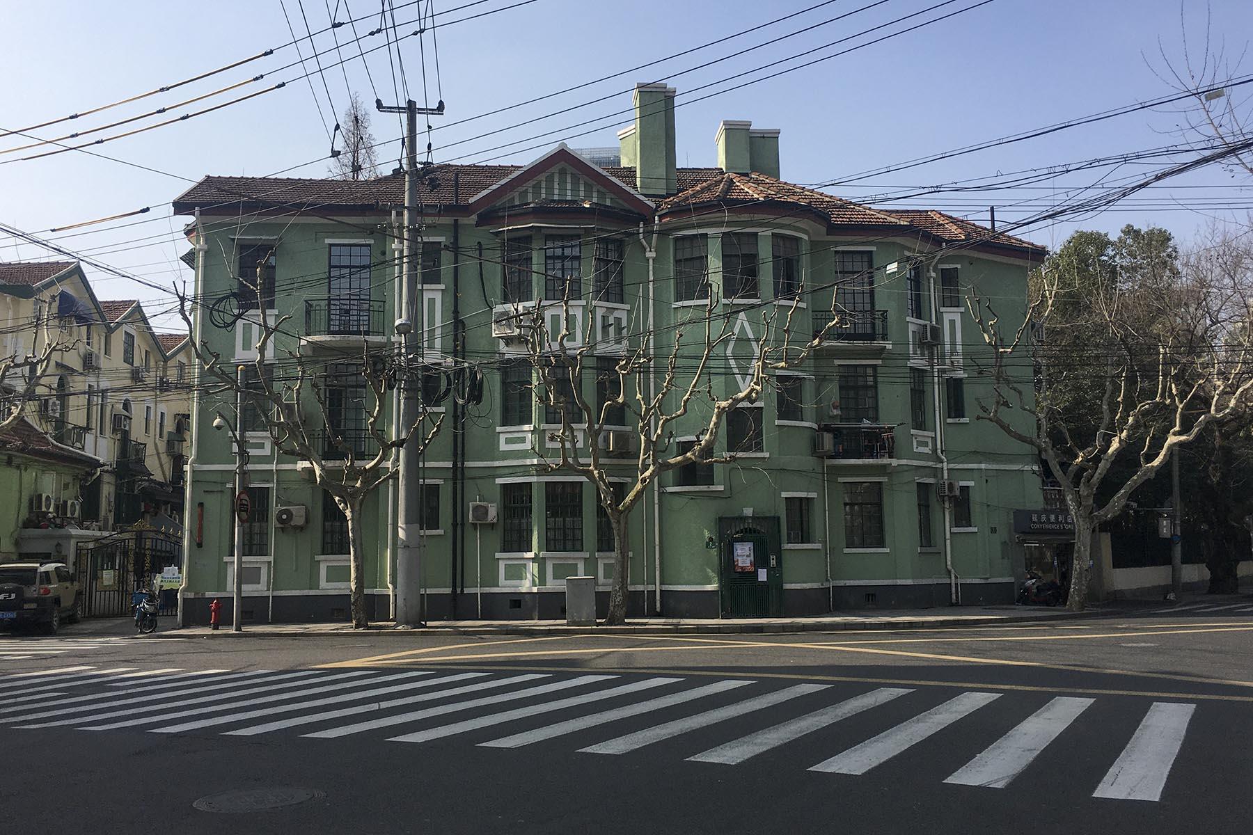 Dachkonstruktion im Nebengebäude von Shuyinlou