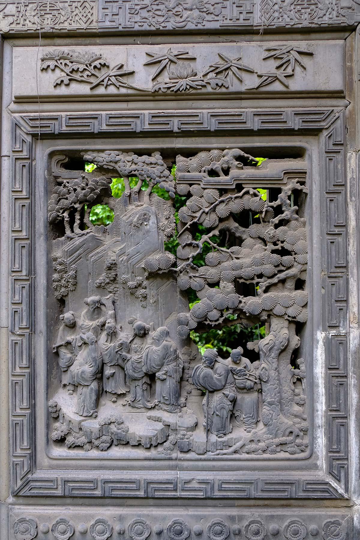 Innenbereich des Haupthauses von Shuyinlou