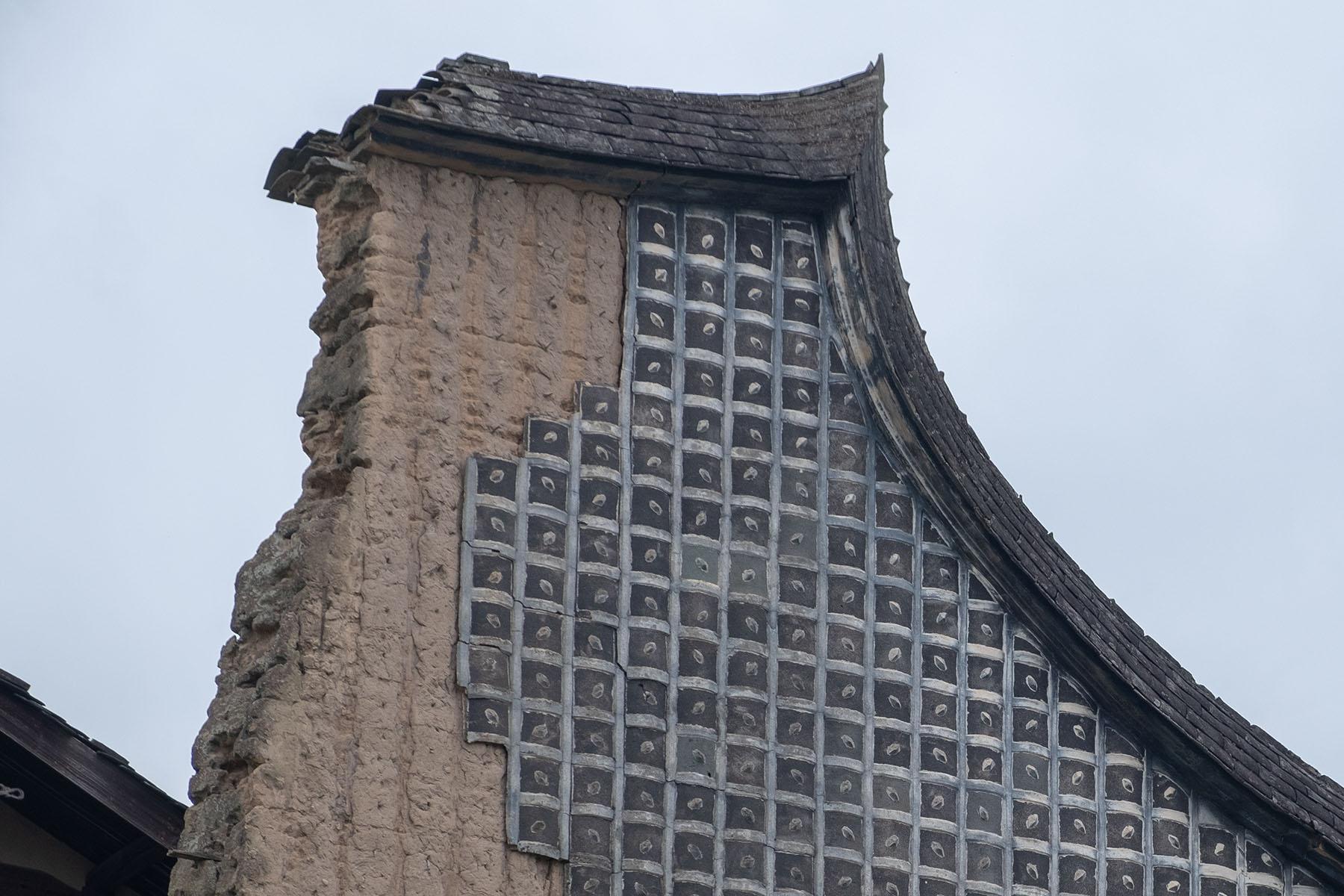 Altes Fassade in Songkou in Fujian, China