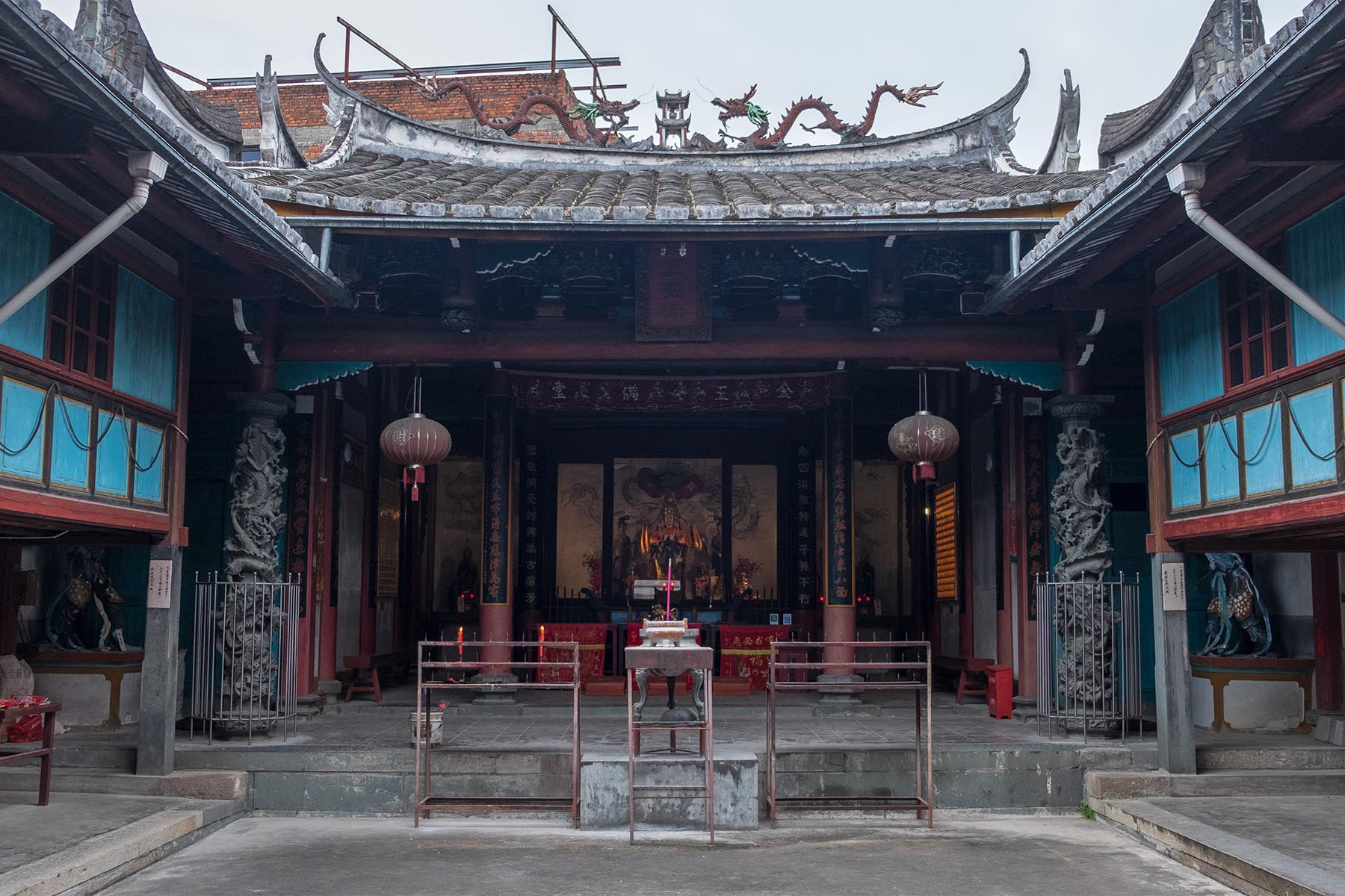 Buddhistischer Tempel in Songkou in Fujian, China