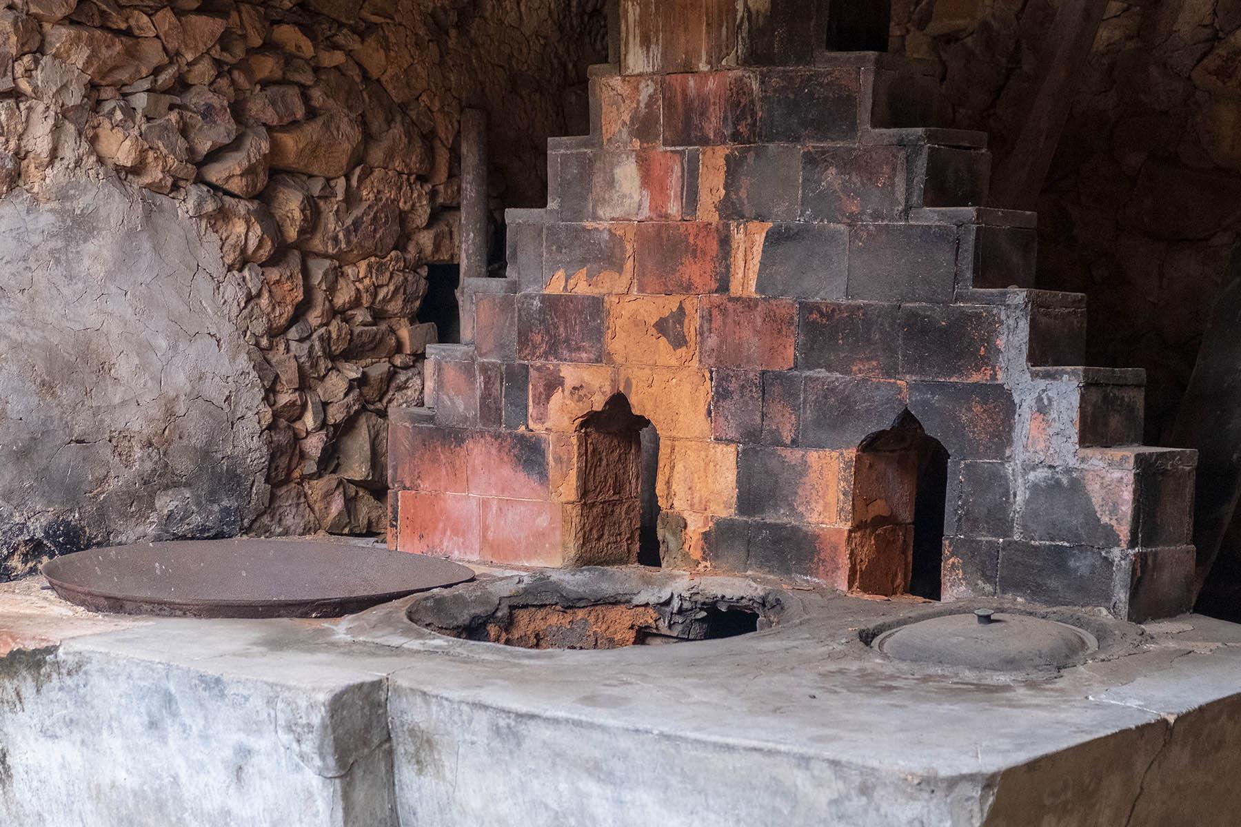 Alte Kochstelle in Zhangjiao in der Provinz Fujian, China