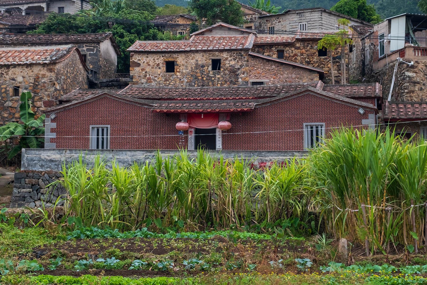 Zhangjiao Dorf in der Provinz Fujian, China