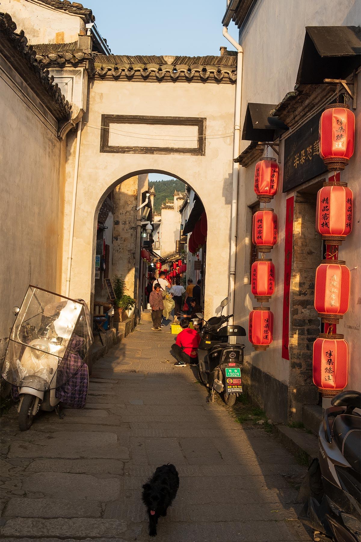 Altstadt Hongcun in Anhui, China