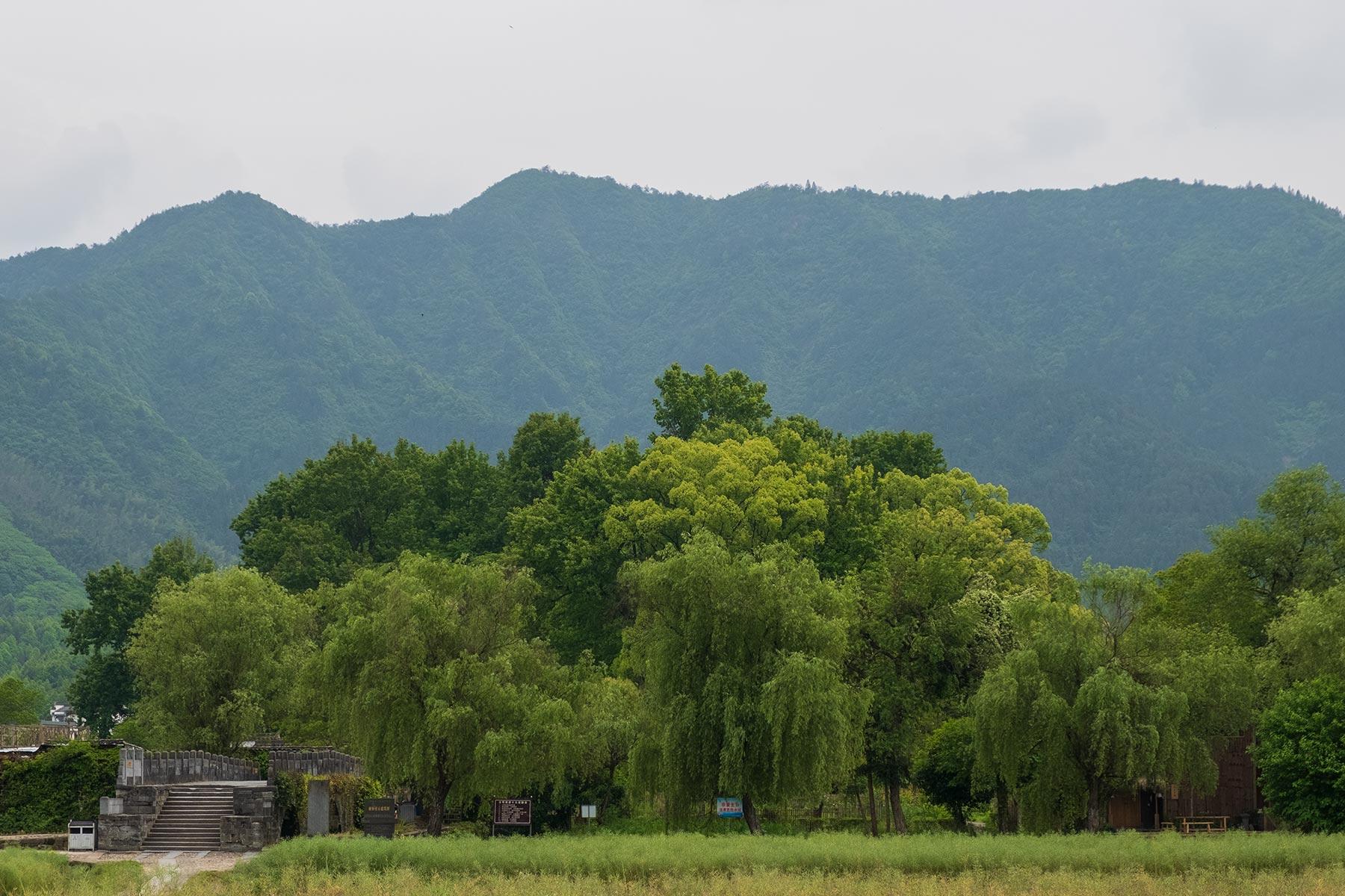 Blick auf Nanping in Anhui, China