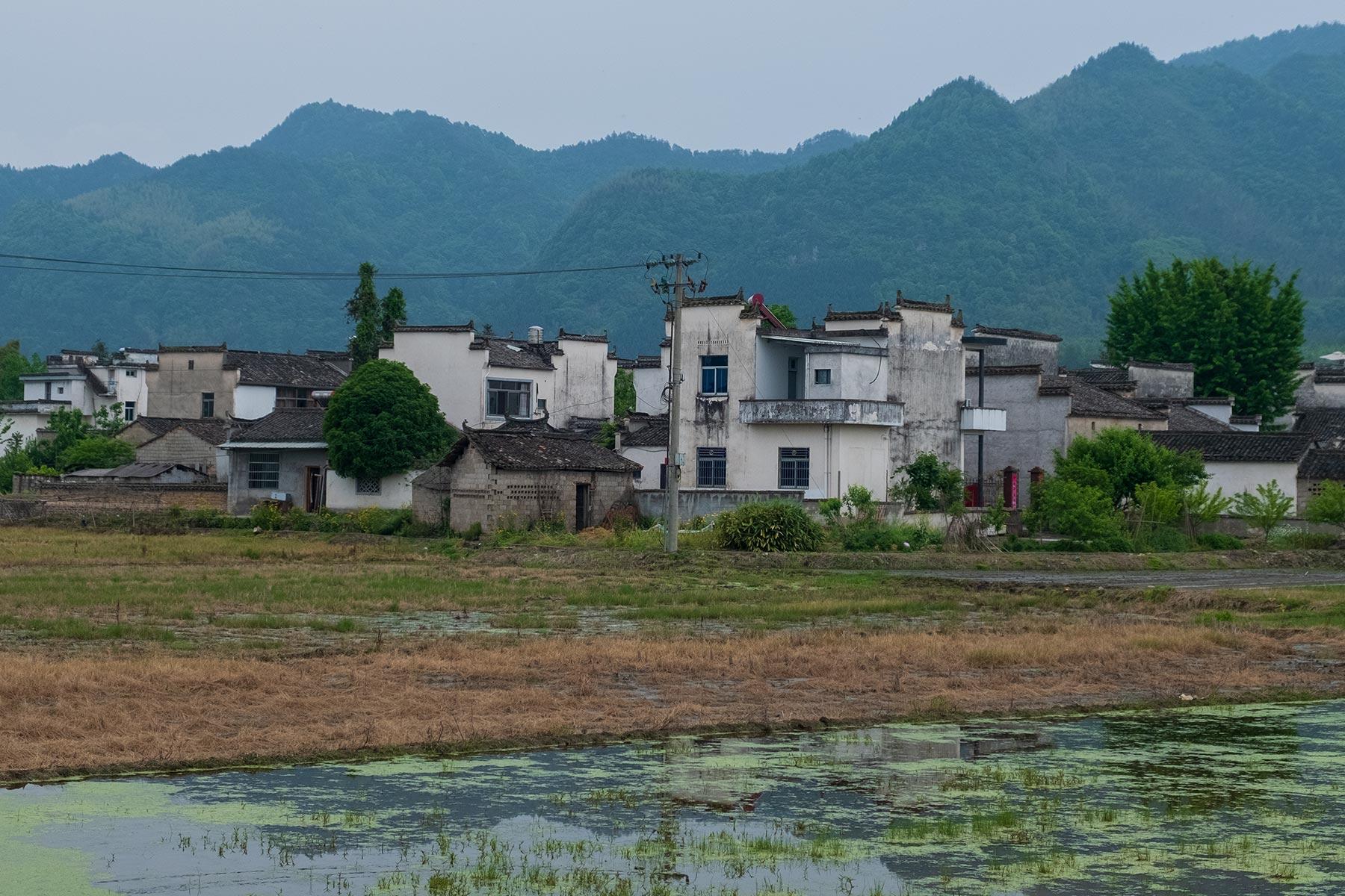 Historische Altstadt Nanping in Anhui, China