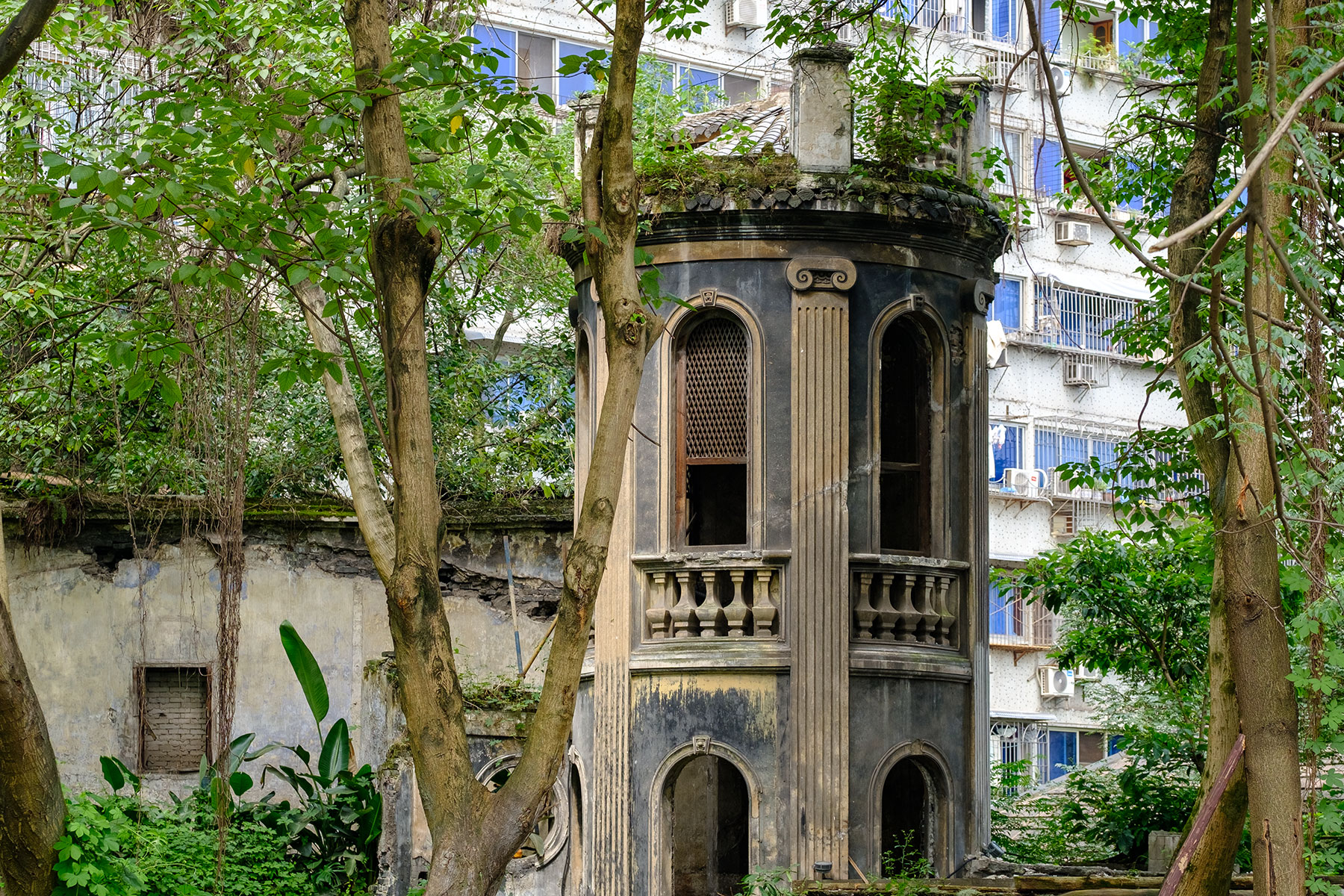 Altes Gebäude in Chongqing