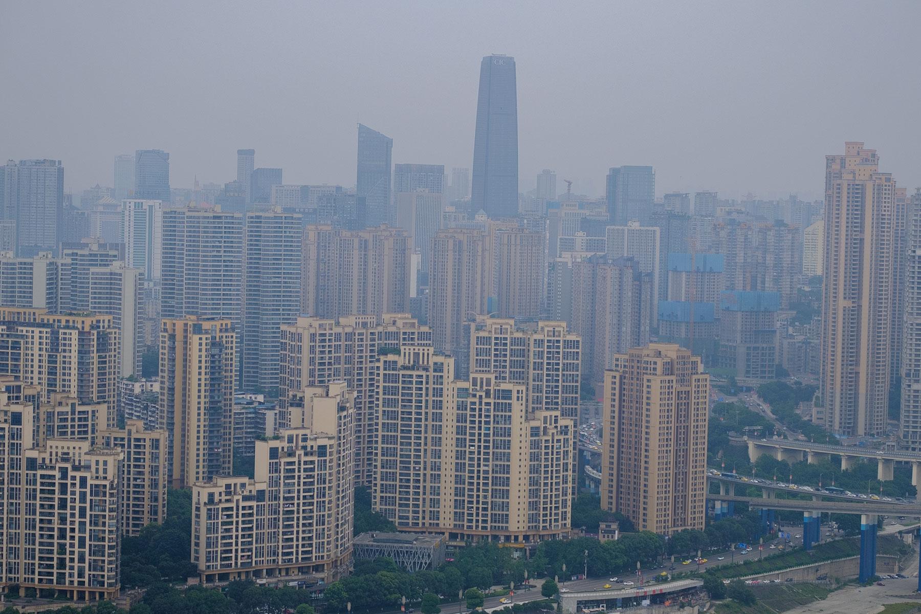 Hochhäuser in Chongqing