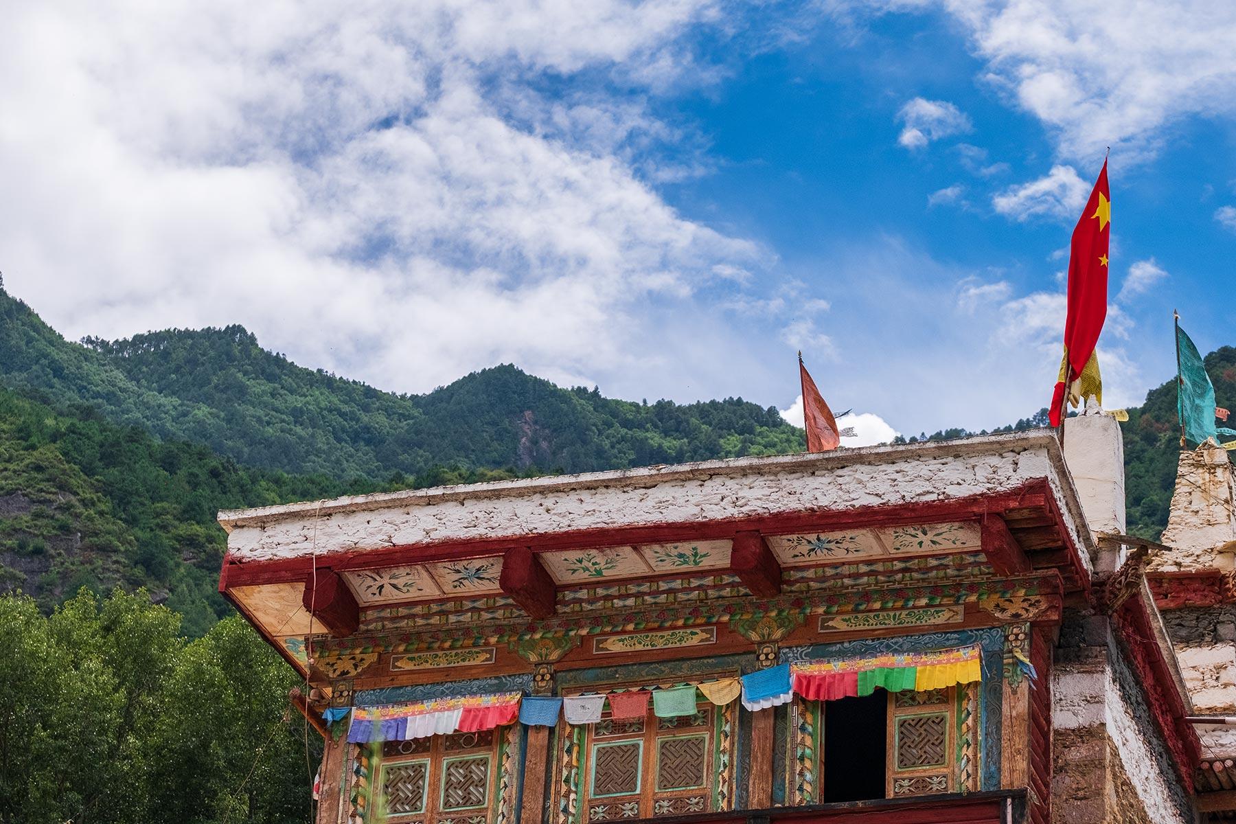 Tibetisches Dorf Danba Zangzhai in China