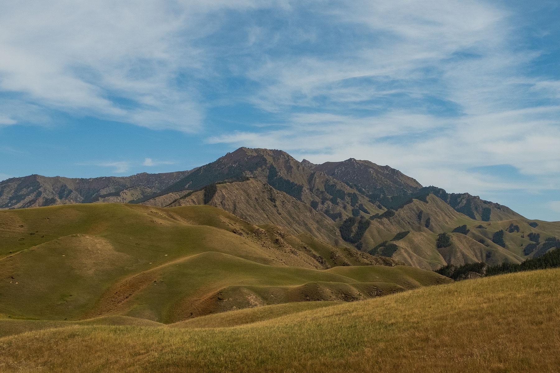 Kangle Grassland in Gansu in China