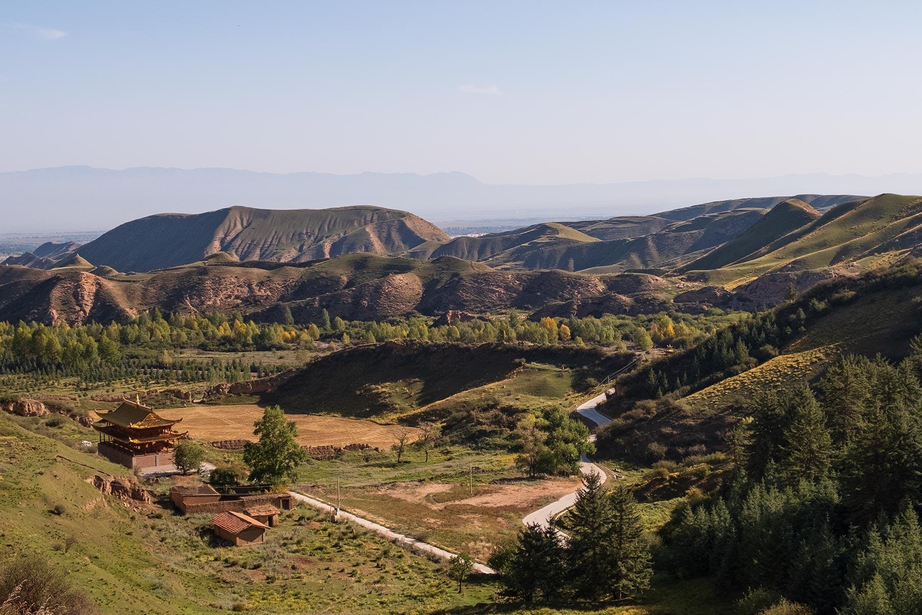 Landschaft beim Mati Tempel