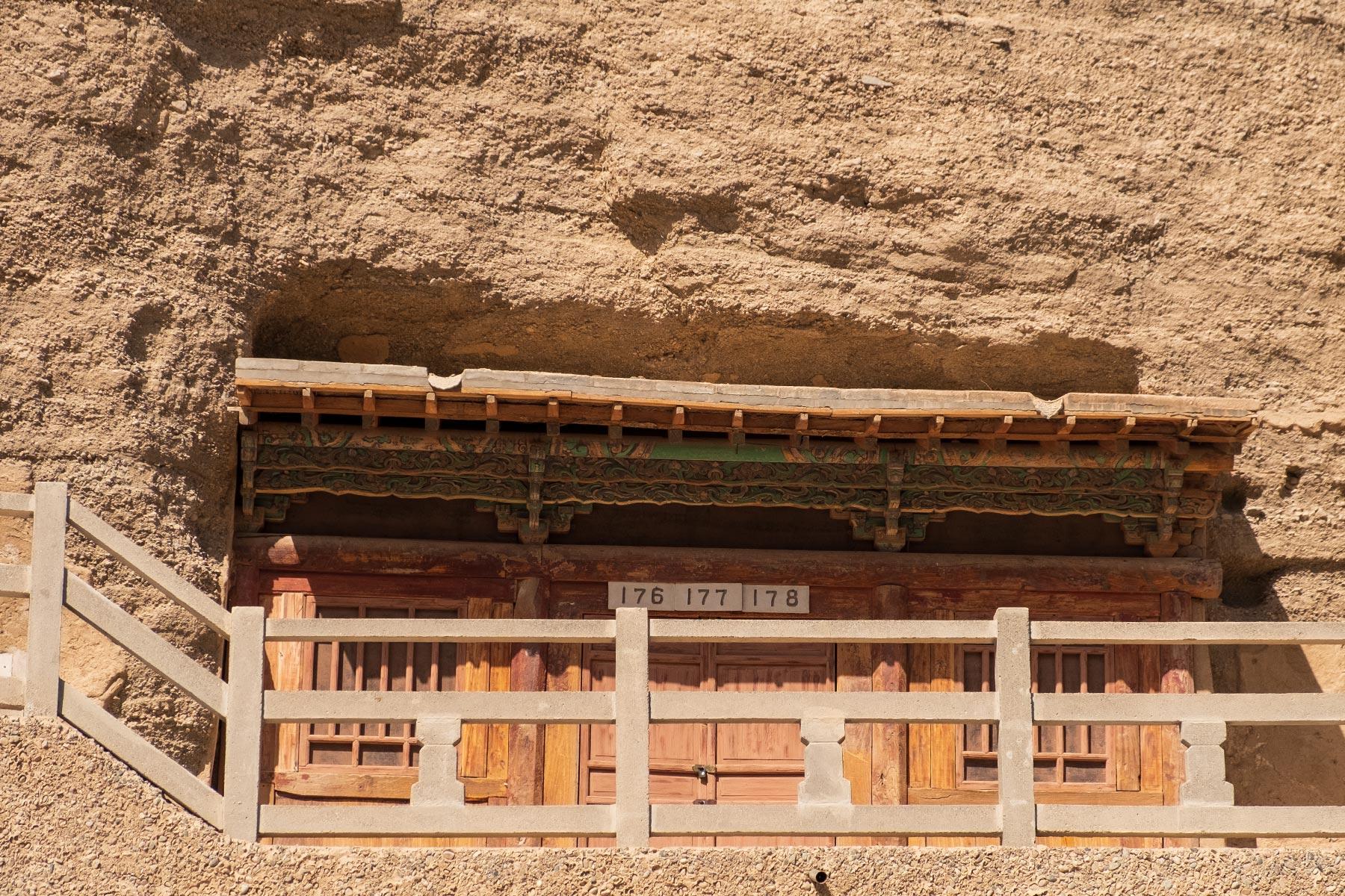 Mogao Höhlen in Gansu in China