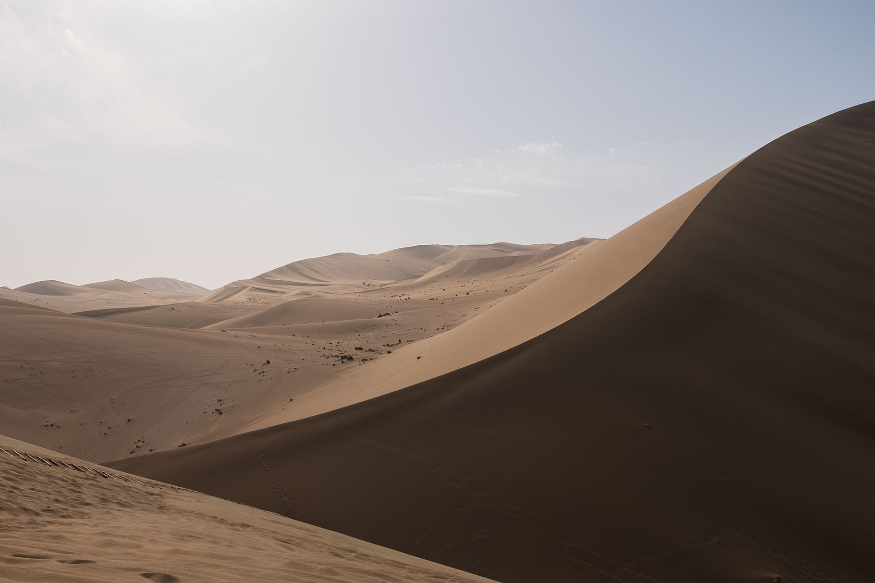 Mingsha Wüste in Dunhuang in China