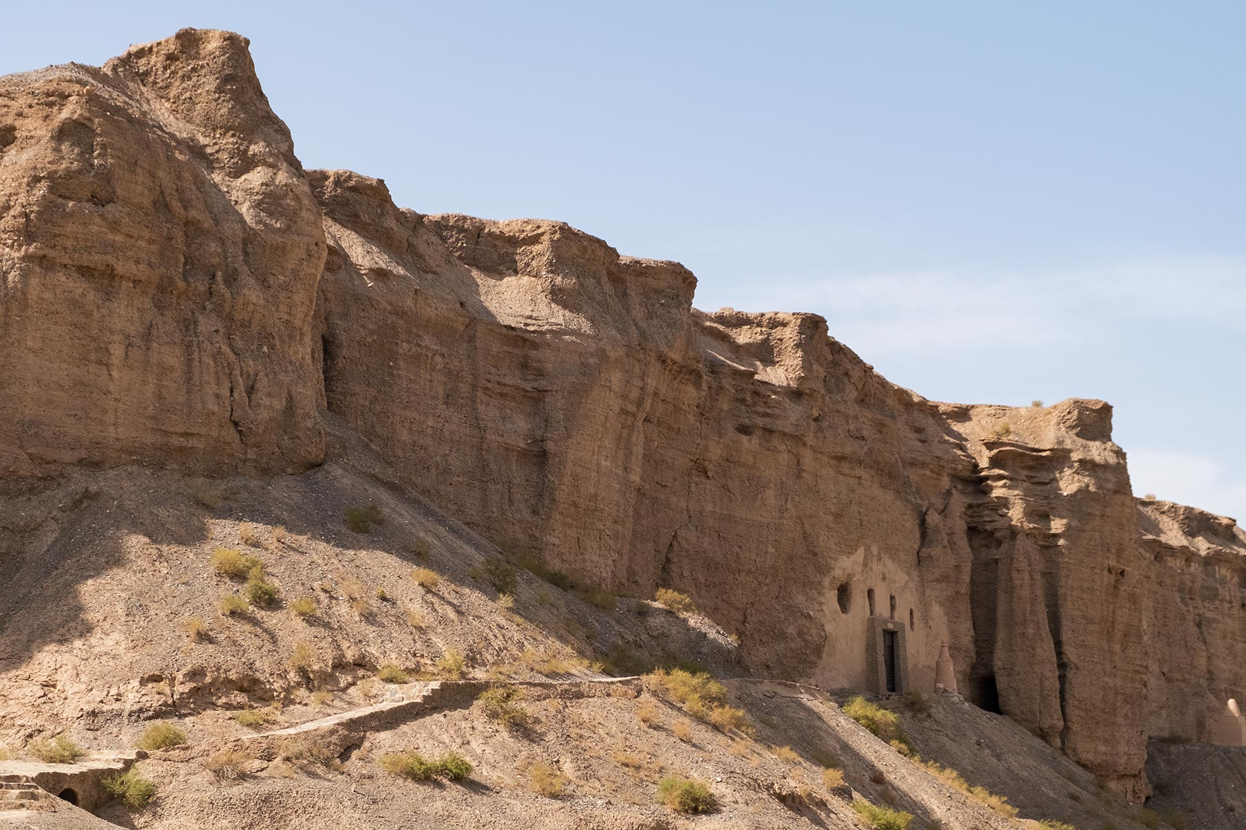 Yulin Grotten in Gansu in China