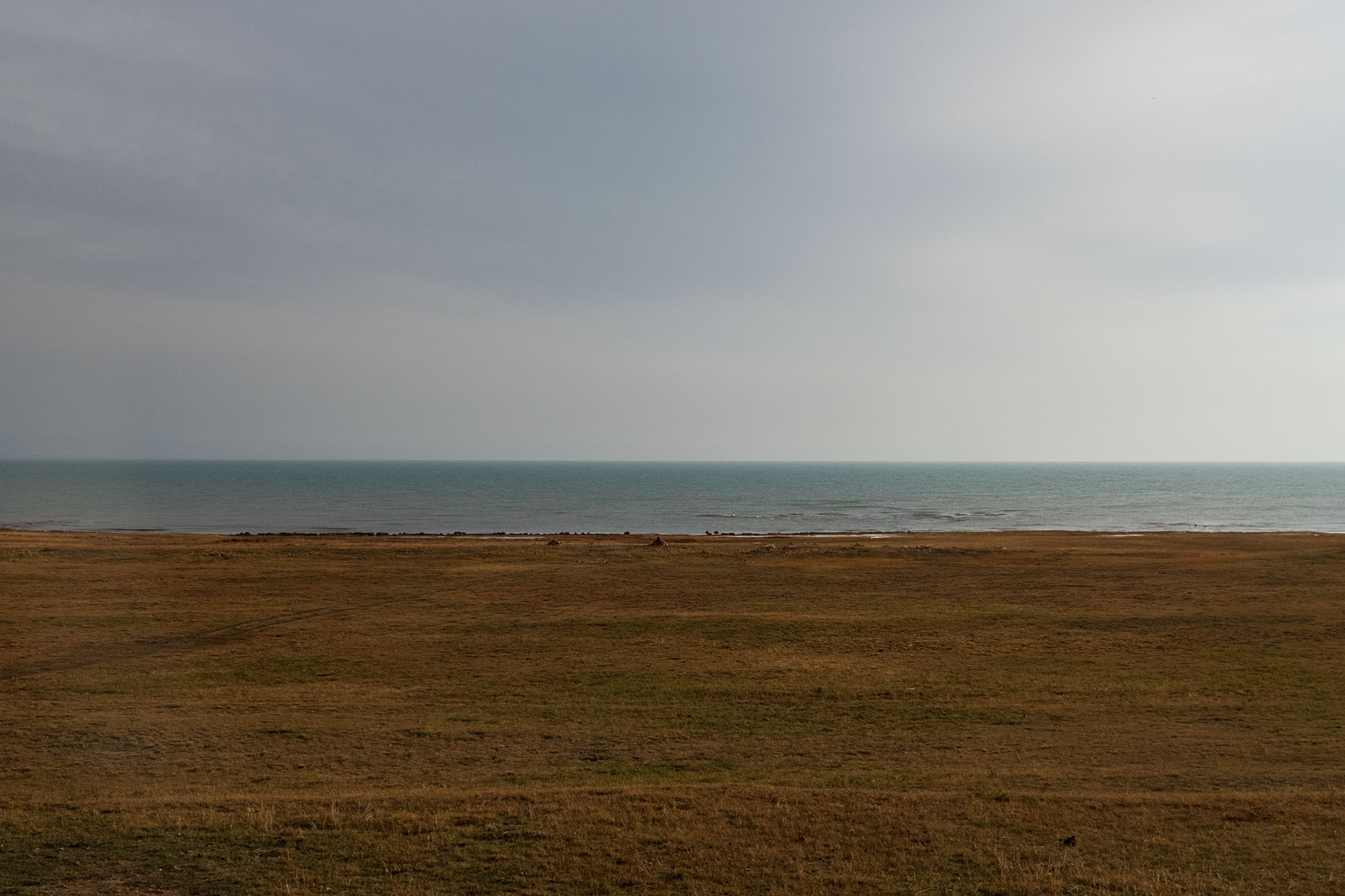 Qinghai See am Morgen