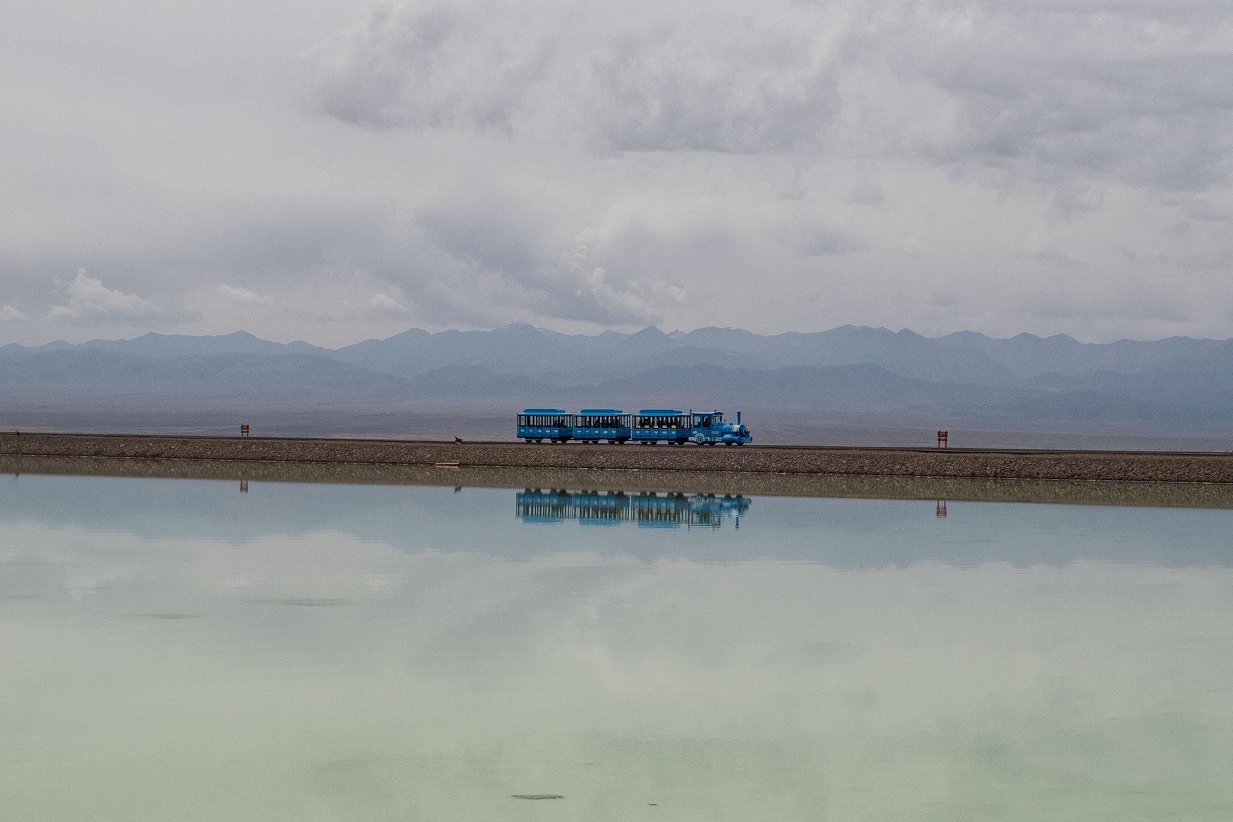 Chaka Salt Lake in Qinghai