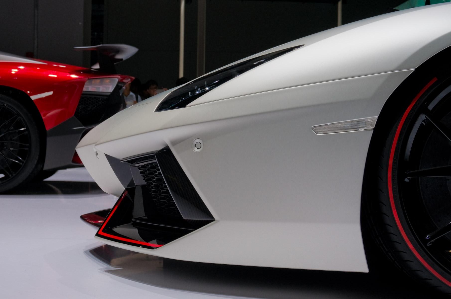 Lamborghini Aventador auf der Auto Shanghai 2015