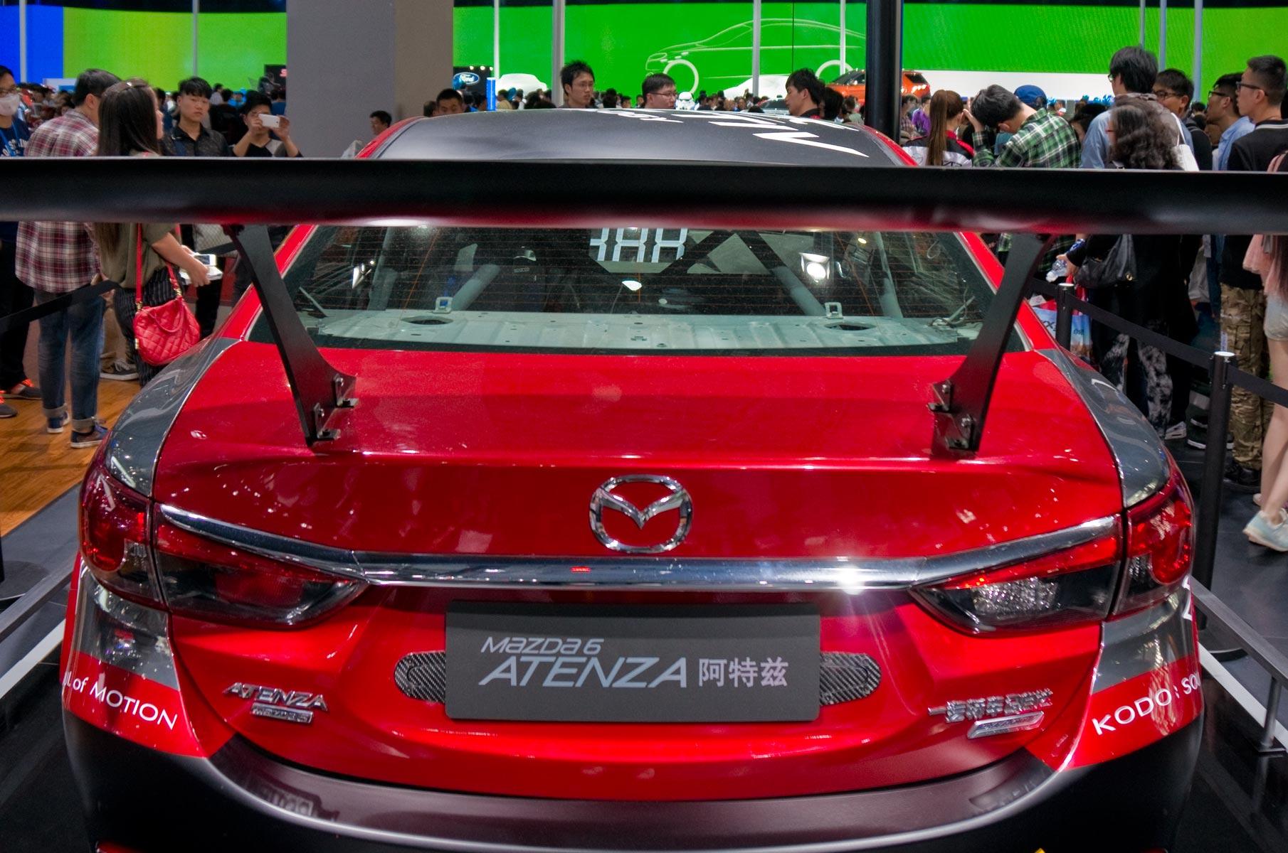 Mazda 6 Atenza auf der Auto Shanghai 2015