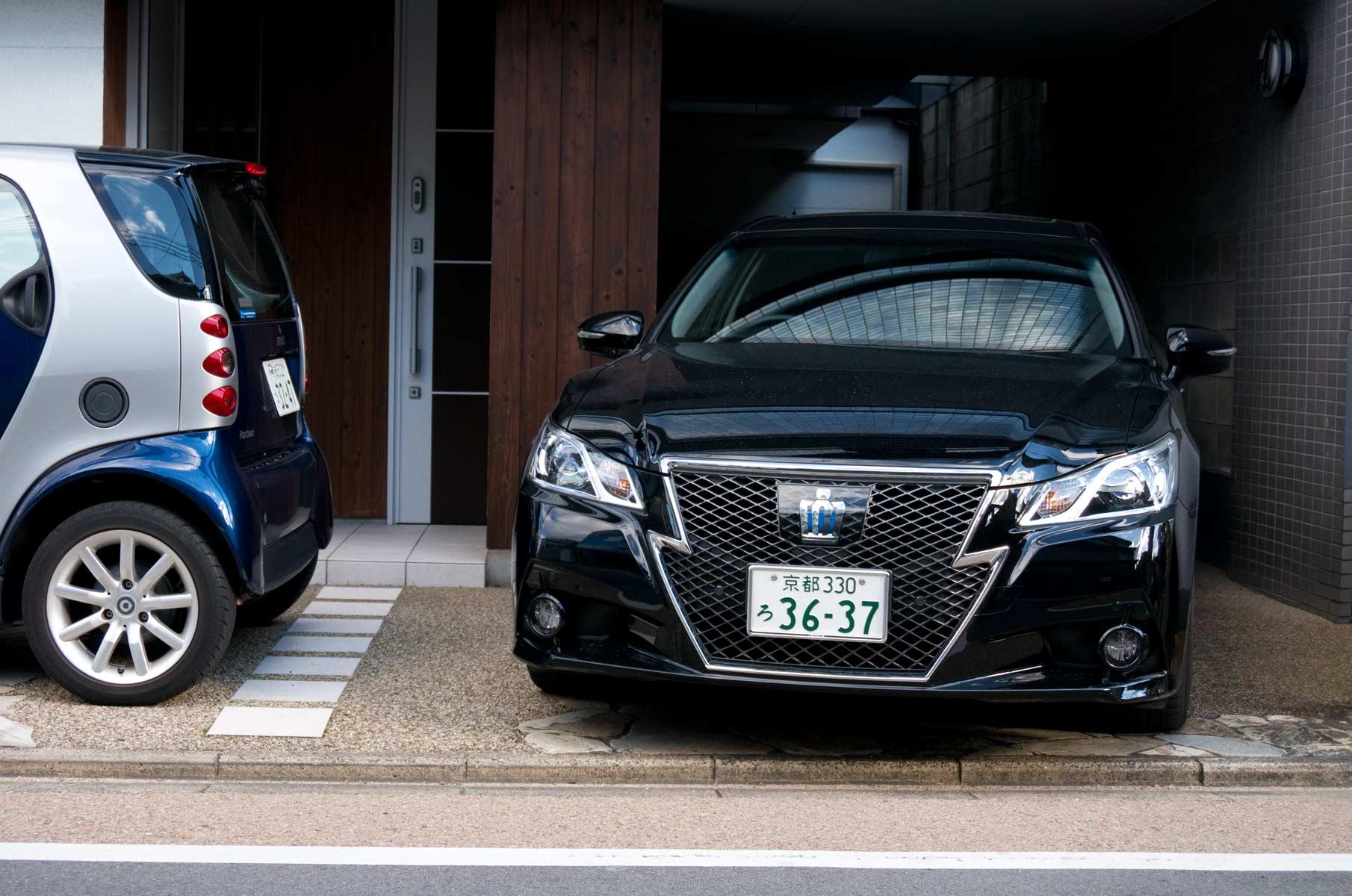 Toyota Crown in Osaka, Japan