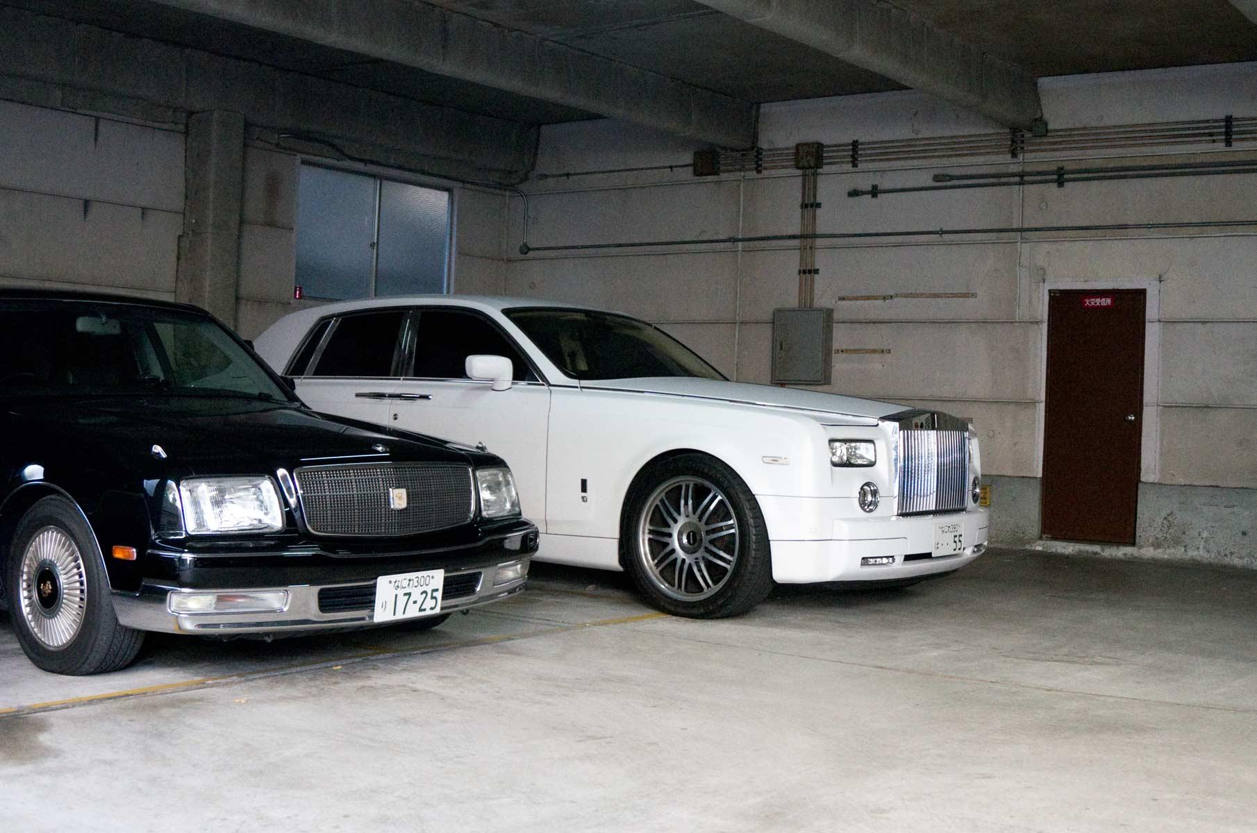 Rolls Royce in Osaka, Japan