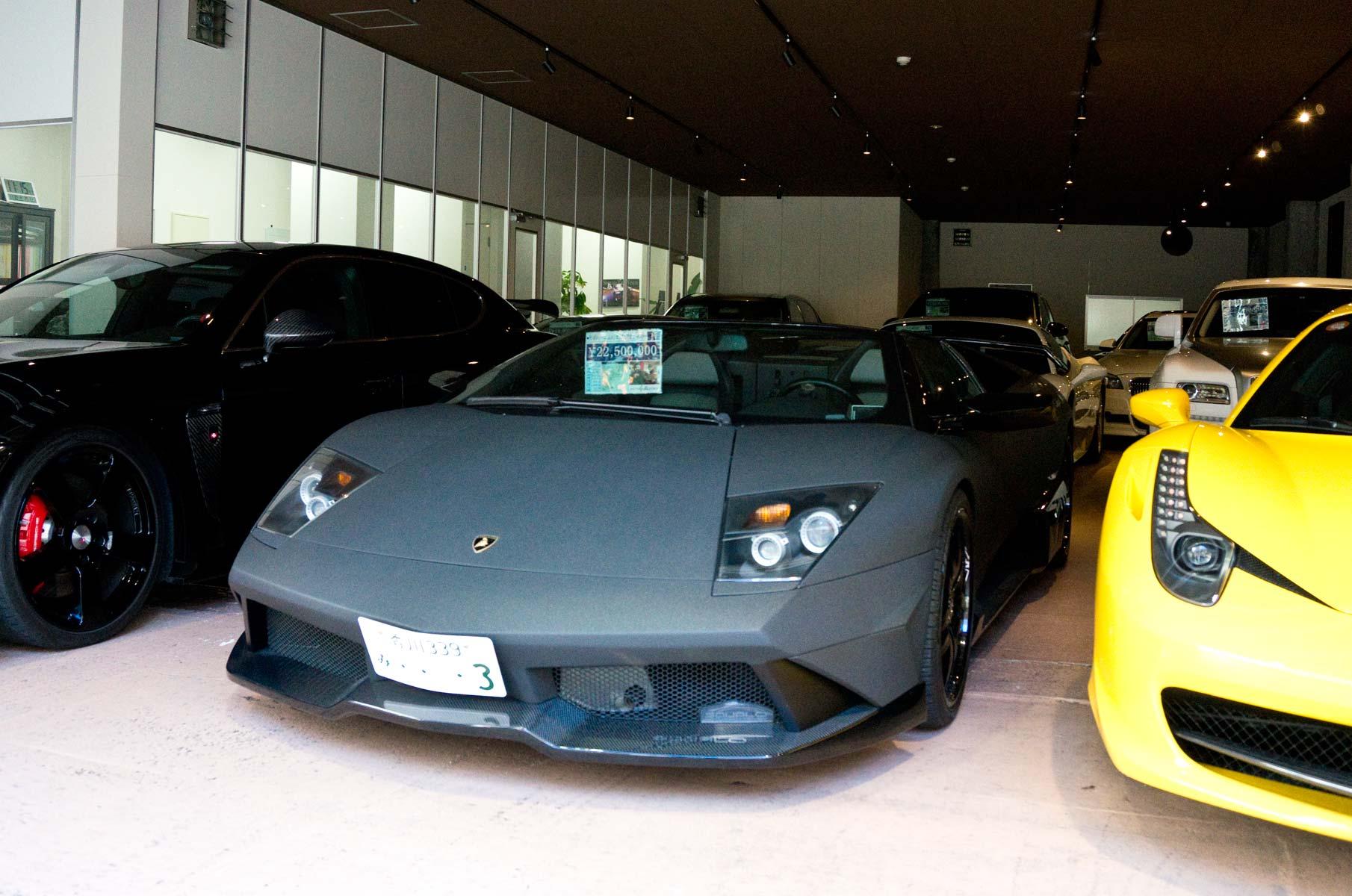 Lamborghini in Osaka, Japan