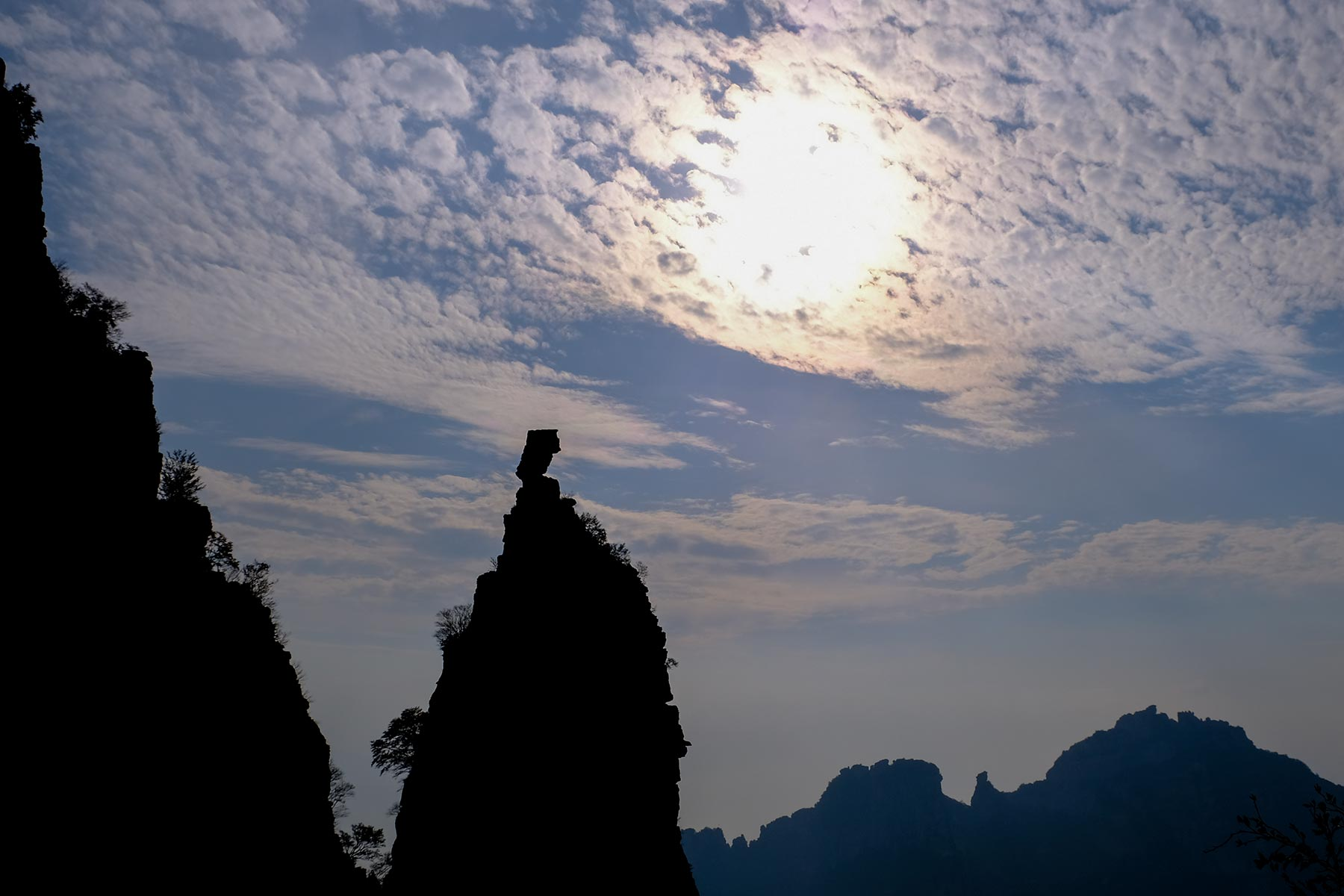 KBaishi Mountain in Hebei, China
