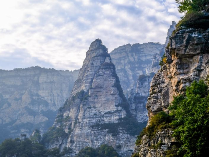 Baishi Mountain in Hebei, Nord-China