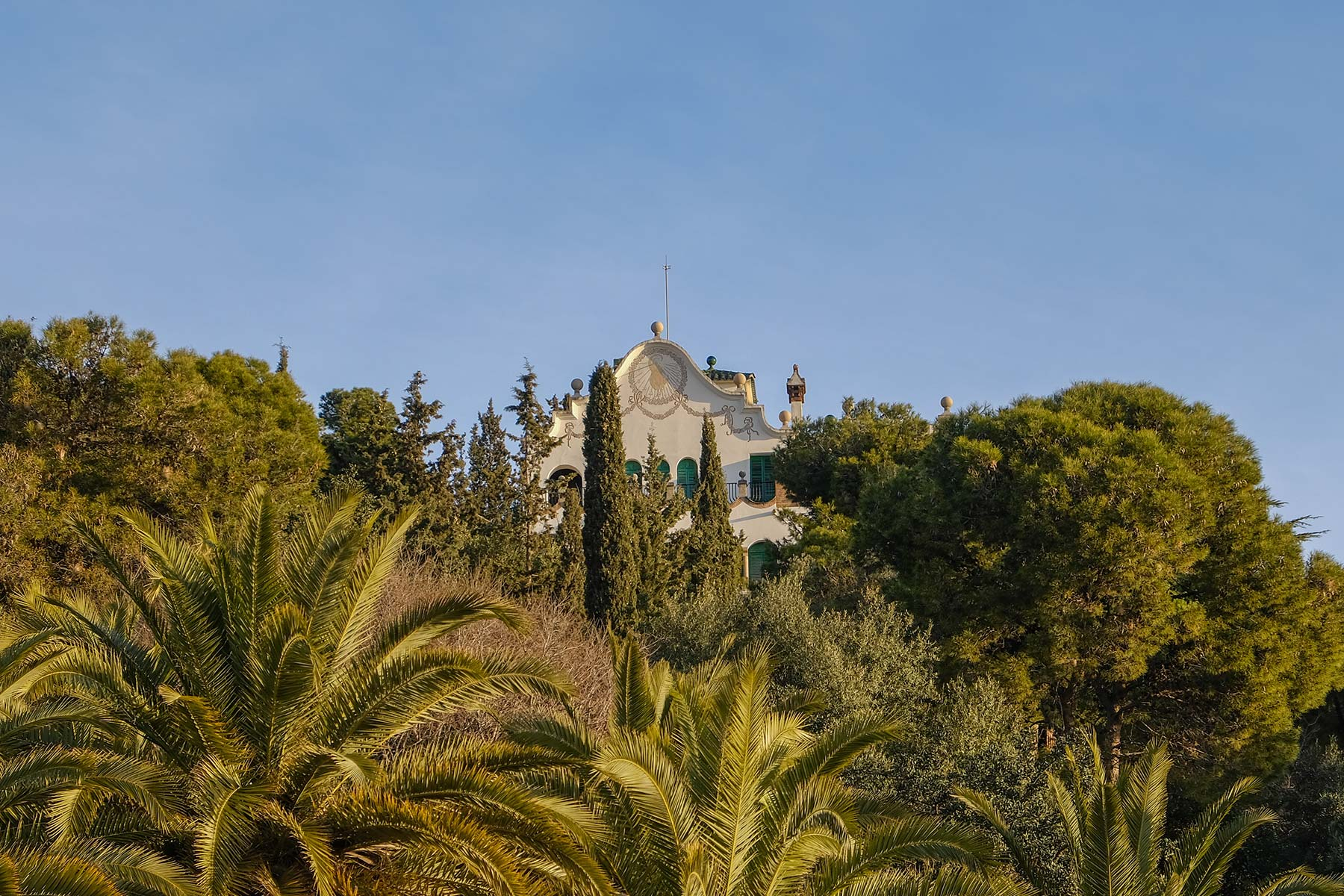 Museum Gaudí-Haus im Park Güell in Barcelona
