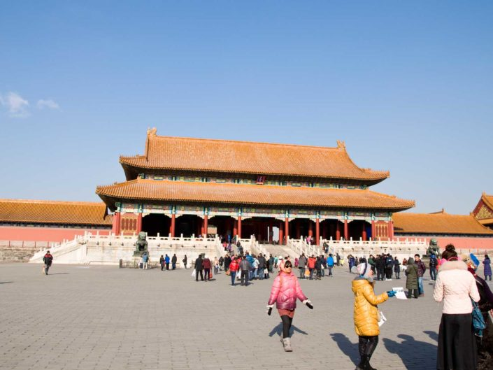Tiananmen, Forbidden City und Hutongs