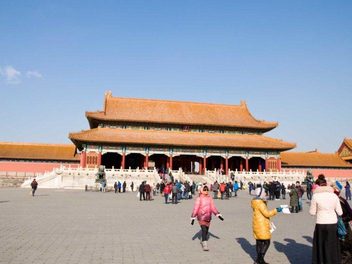 Tiananmen, Forbidden City und Hutongs