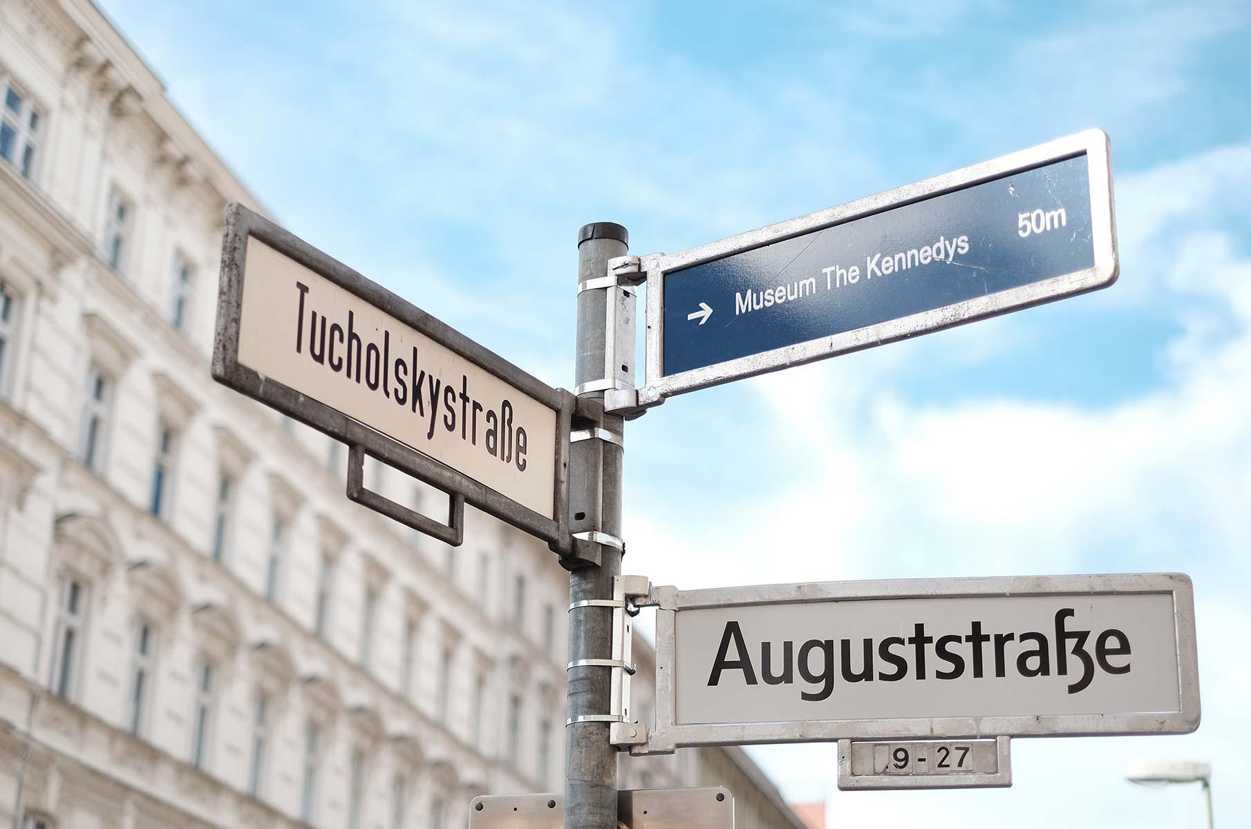 Tucholskystraße in Berlin