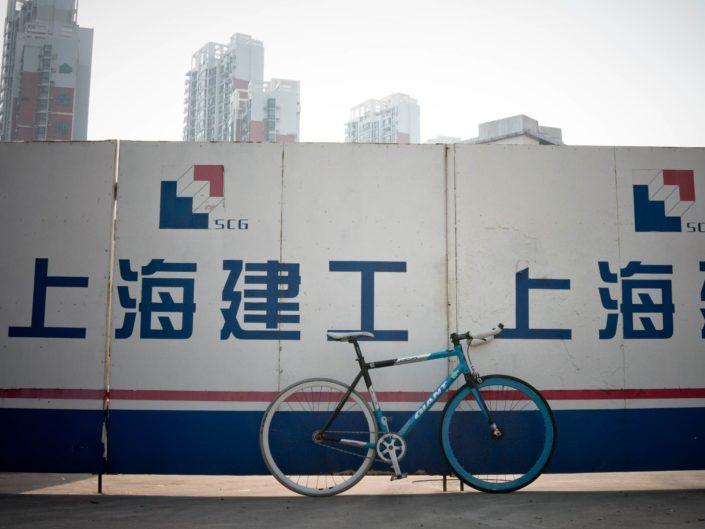 My ride in Shanghai