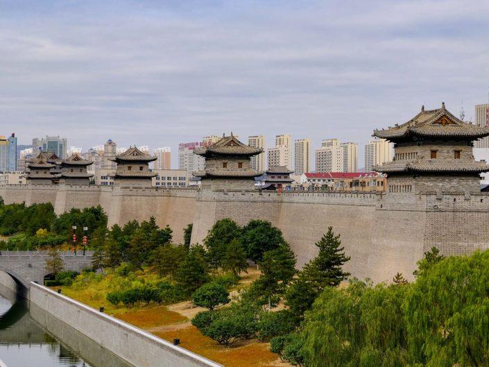 Stadtmauer in Datong