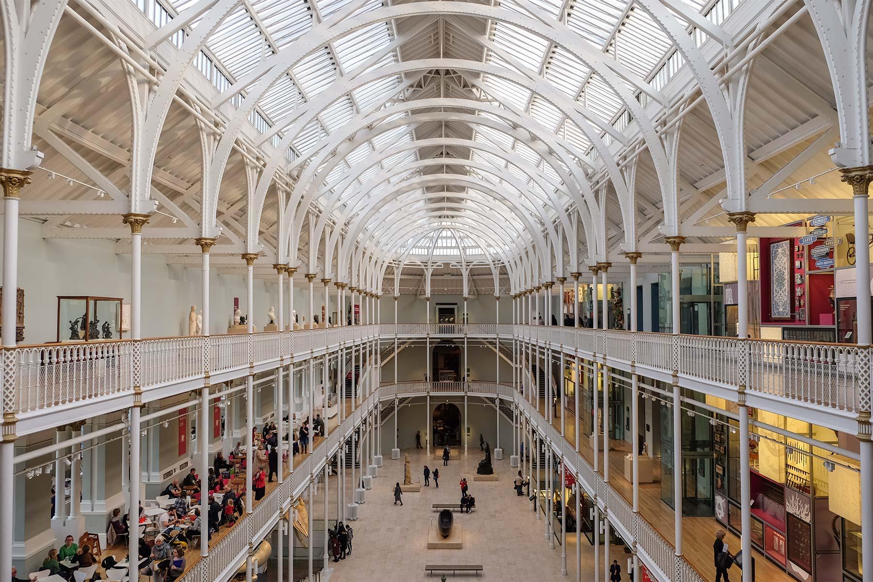 Royal Museum in Edinburgh, Schottland