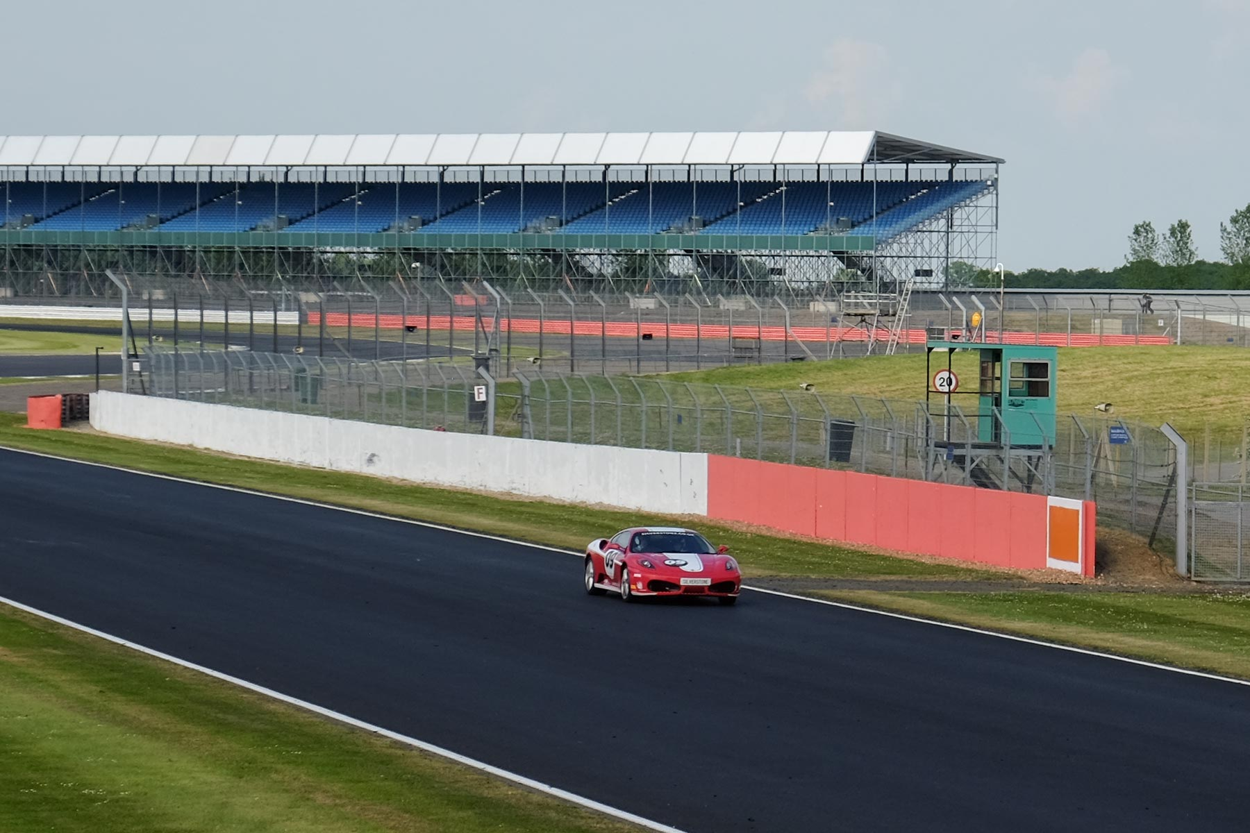 Ferrari F430 Experience in Silverstone
