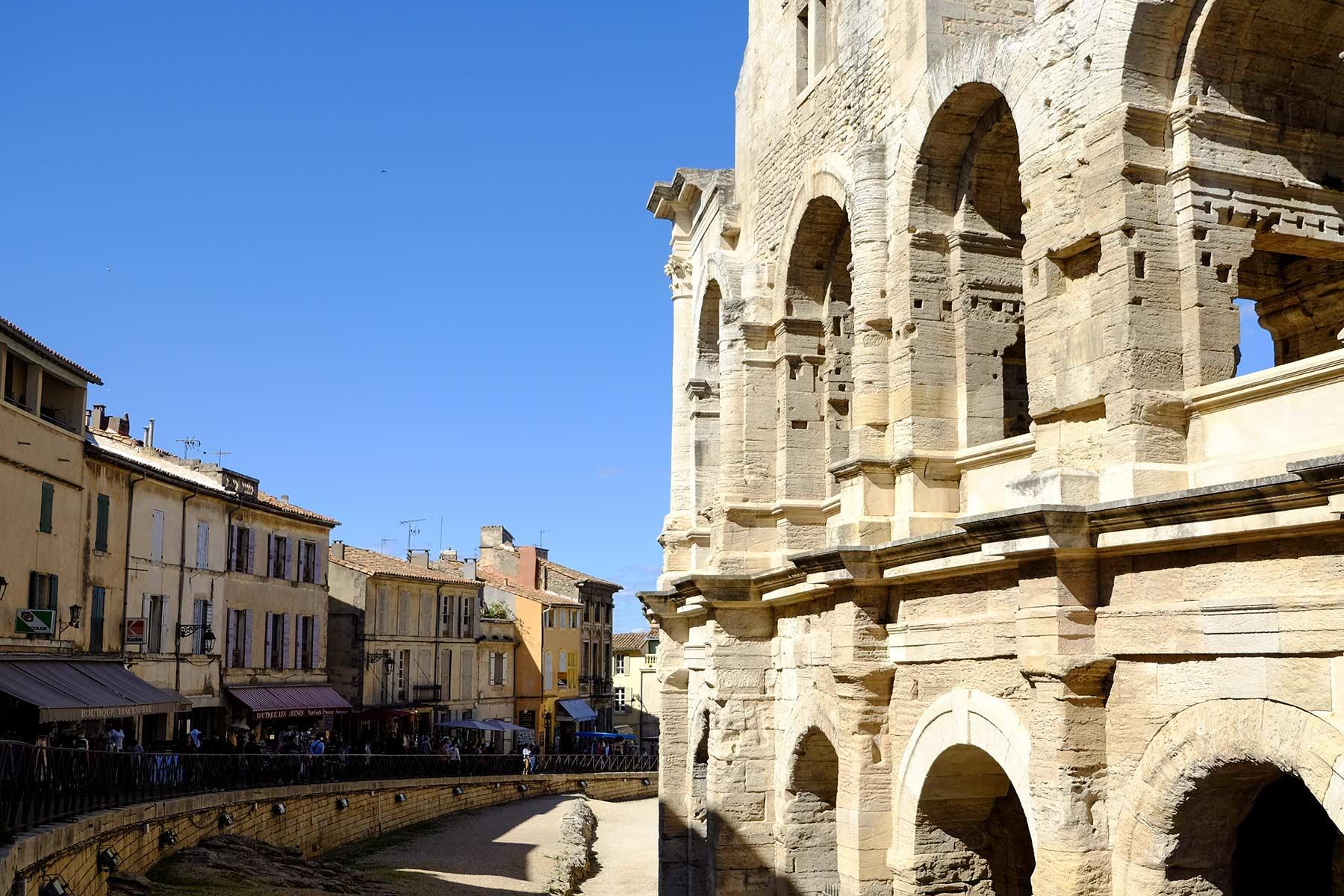 Amphitheater von Arles, Frankreich