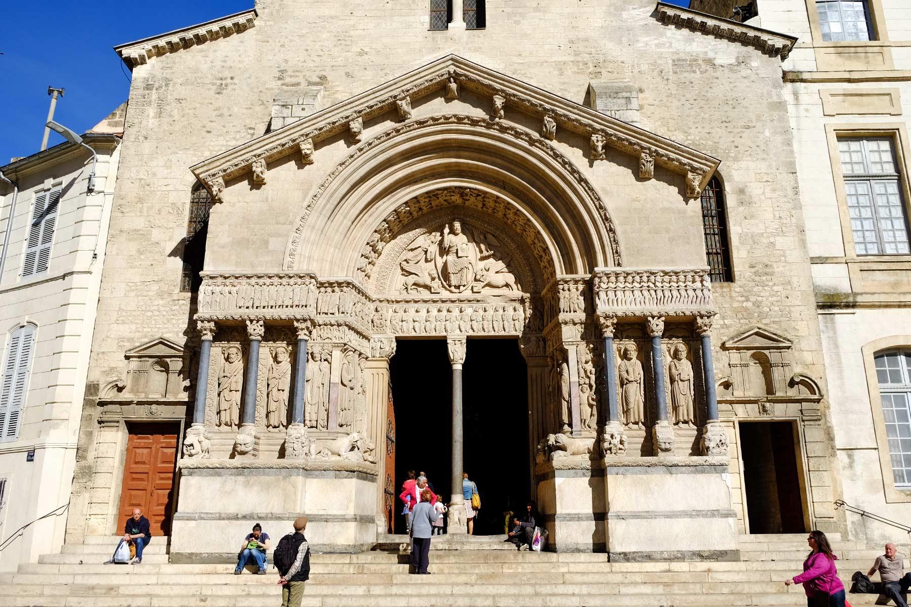Église Saint-Trophime in Arles, Frankreich
