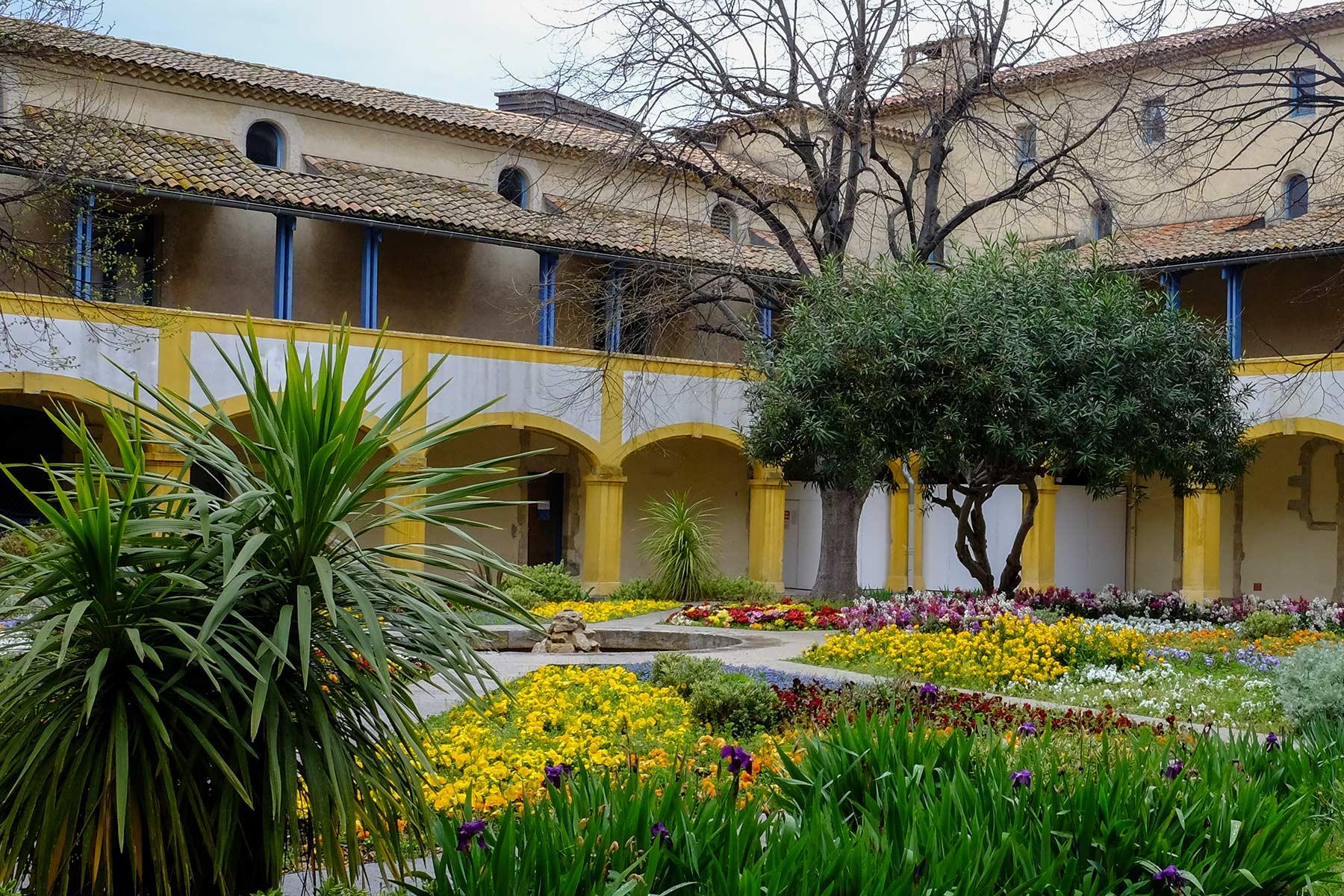 L'espace Van Gogh in Arles, Frankreich