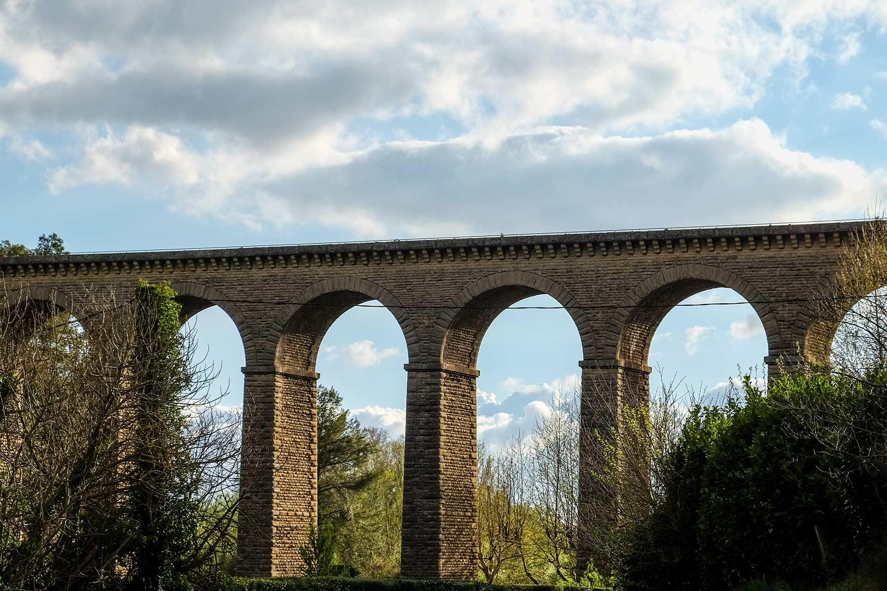 Fontaine de Vaucluse in der Provence, Frankreich