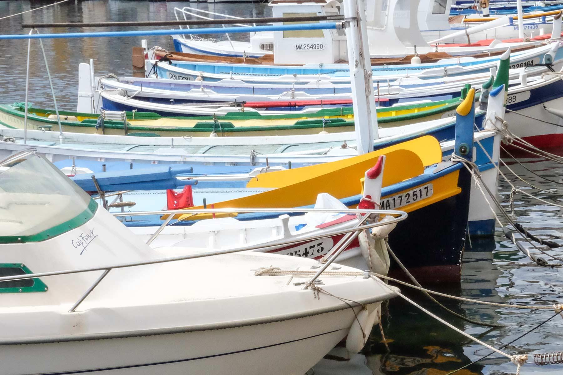 Hafen von La Ciotat, Frankreich
