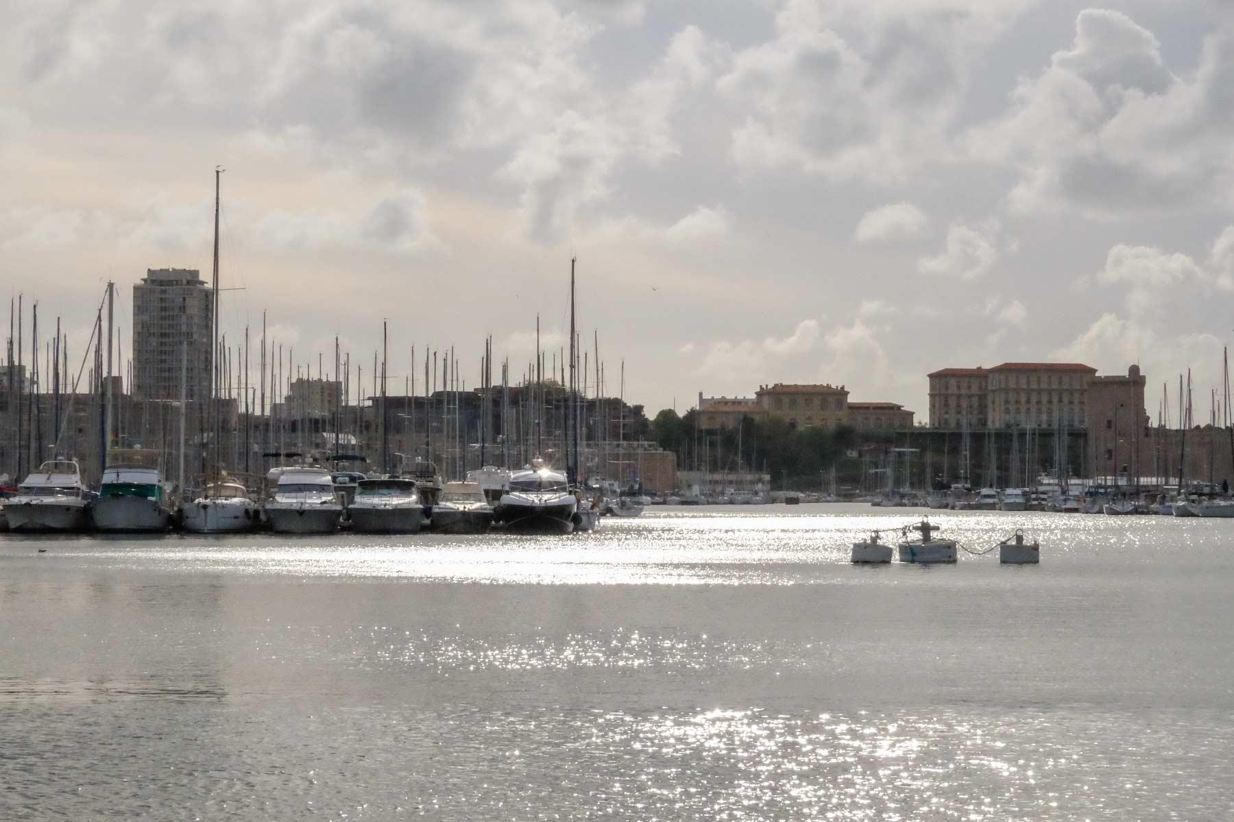 Alte Hafen von Marseille, Frankreich
