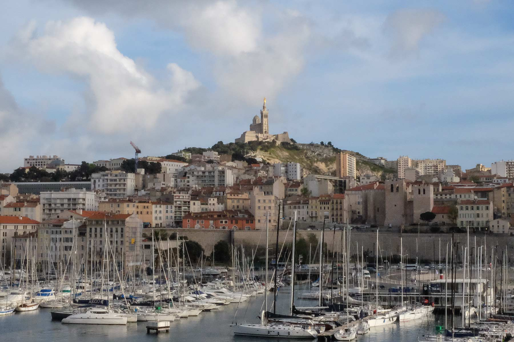 Basilique Notre-Dame de la Garde in Marseille, Frankreich