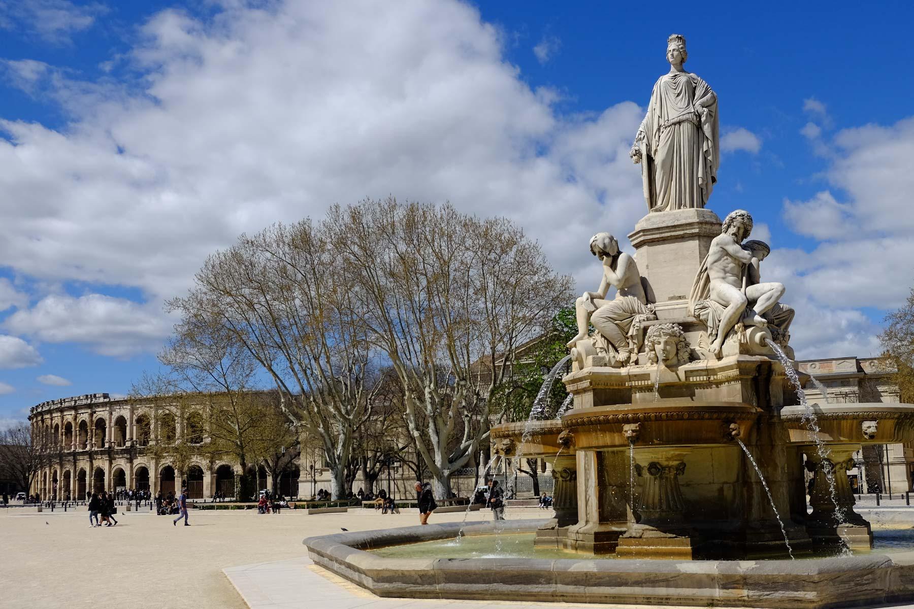 Amphitheater von Nîmes, Frankreich