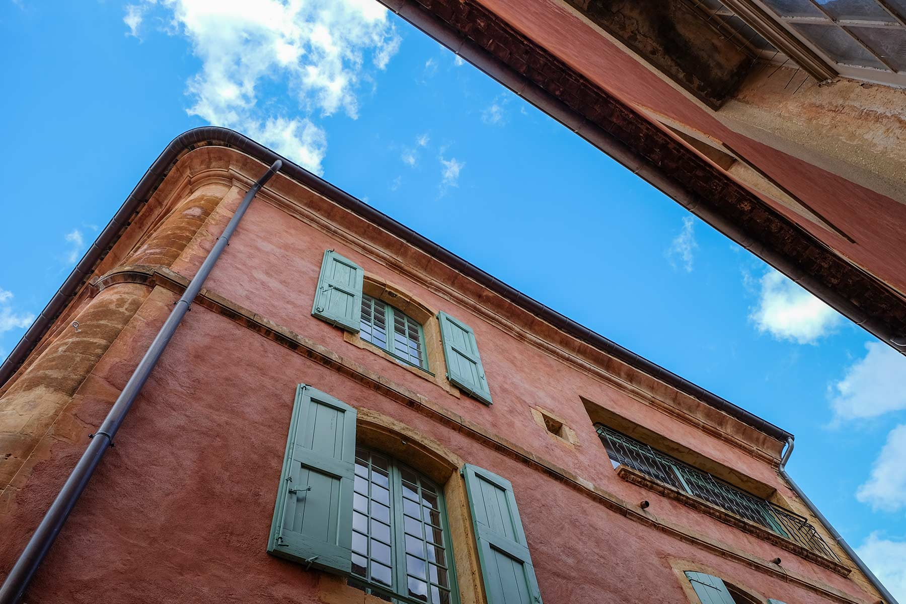 Roussillon in der Provence, Frankreich