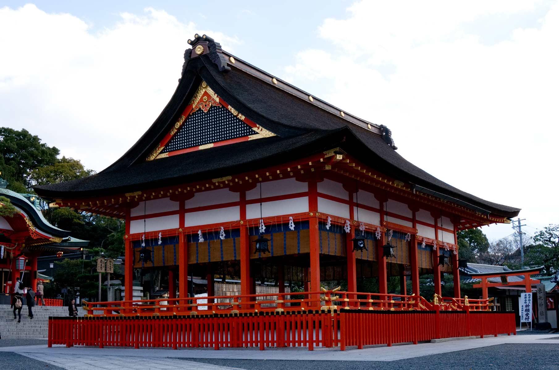 Fushimi Inari-Taisha Schrein in Kyoto, Japan