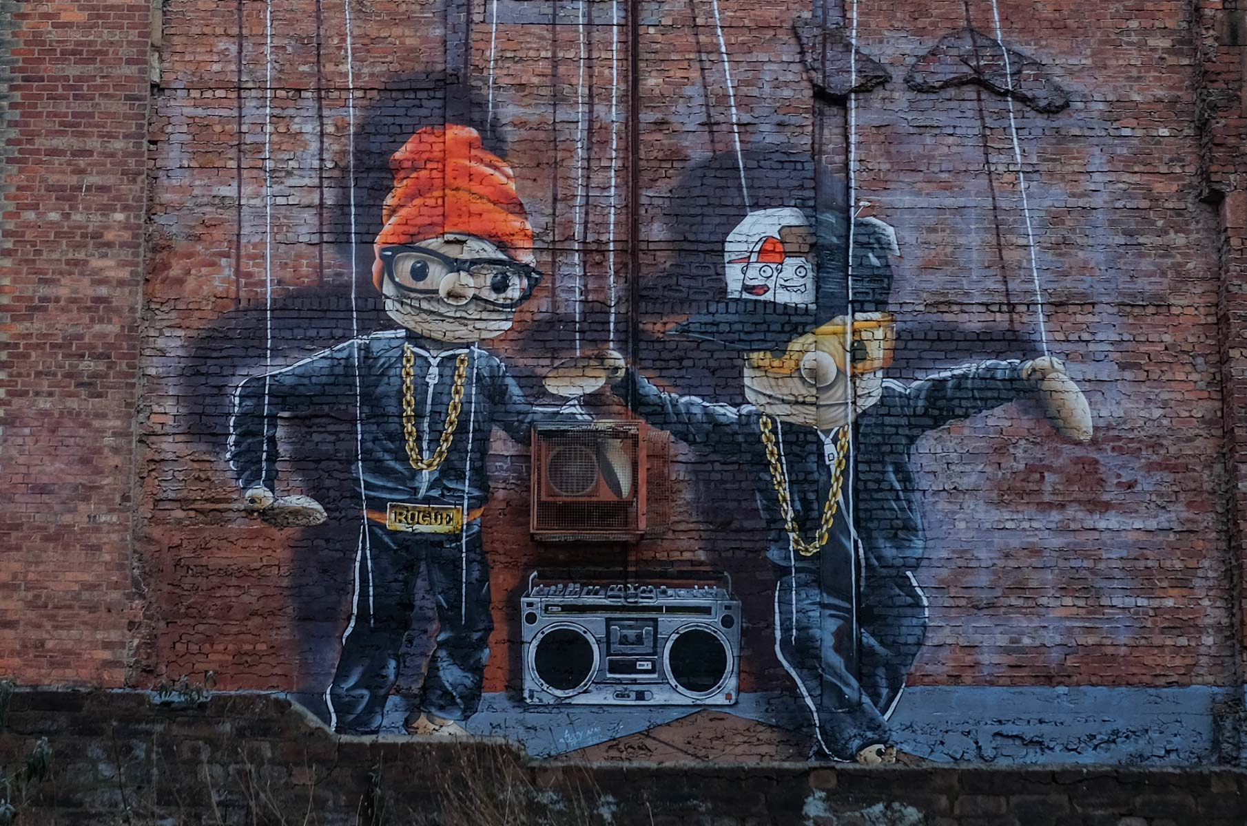 Graffiti in Glasgow, Schottland
