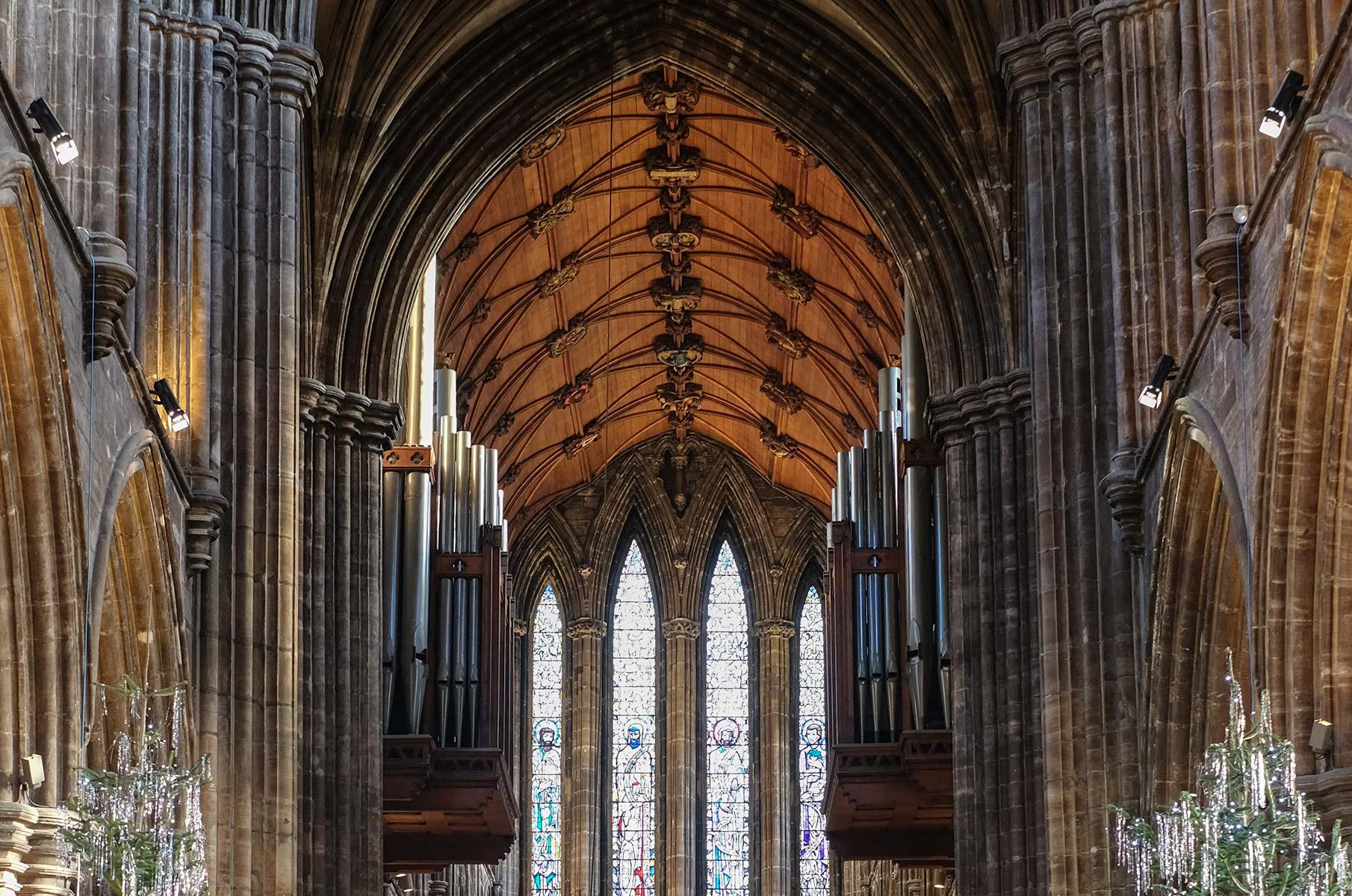 St. Mungo's Cathedral in Glasgow, Schottland