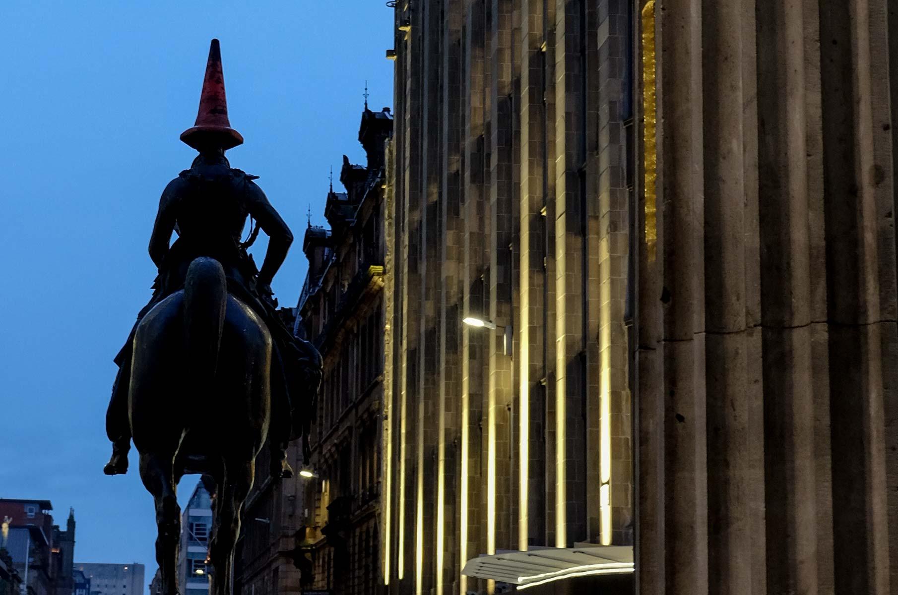 Duke of Wellington in Glasgow, Schottland