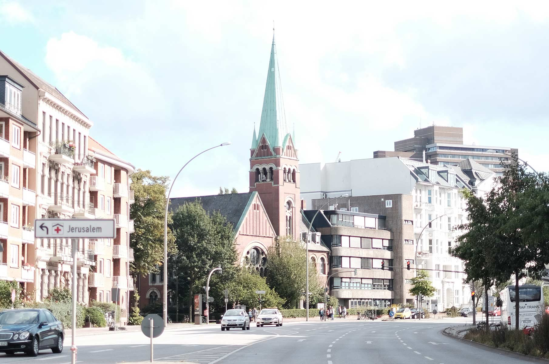Christuskirche in Eimsbüttel in Hamburg