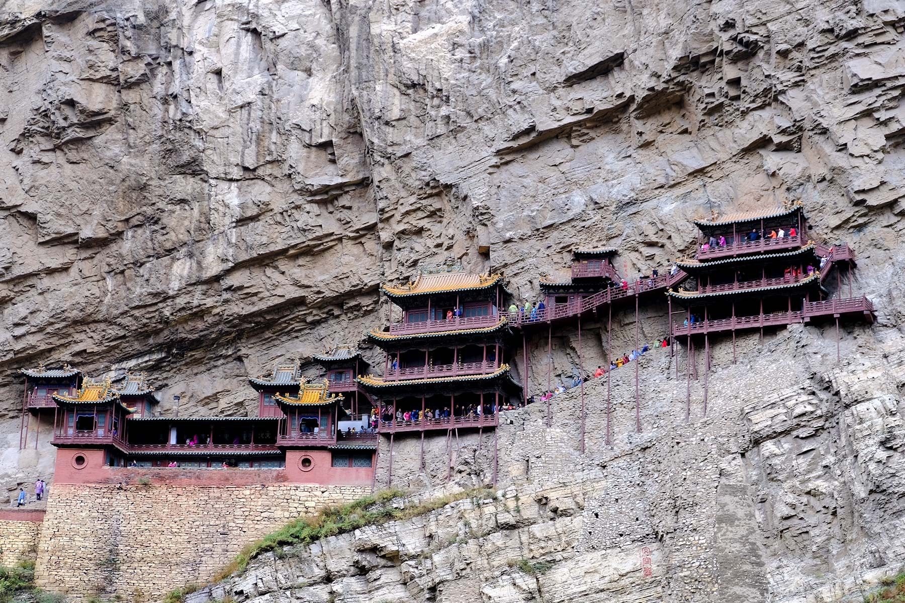 Hanging Temple, Xuankong Temple in Datong, China