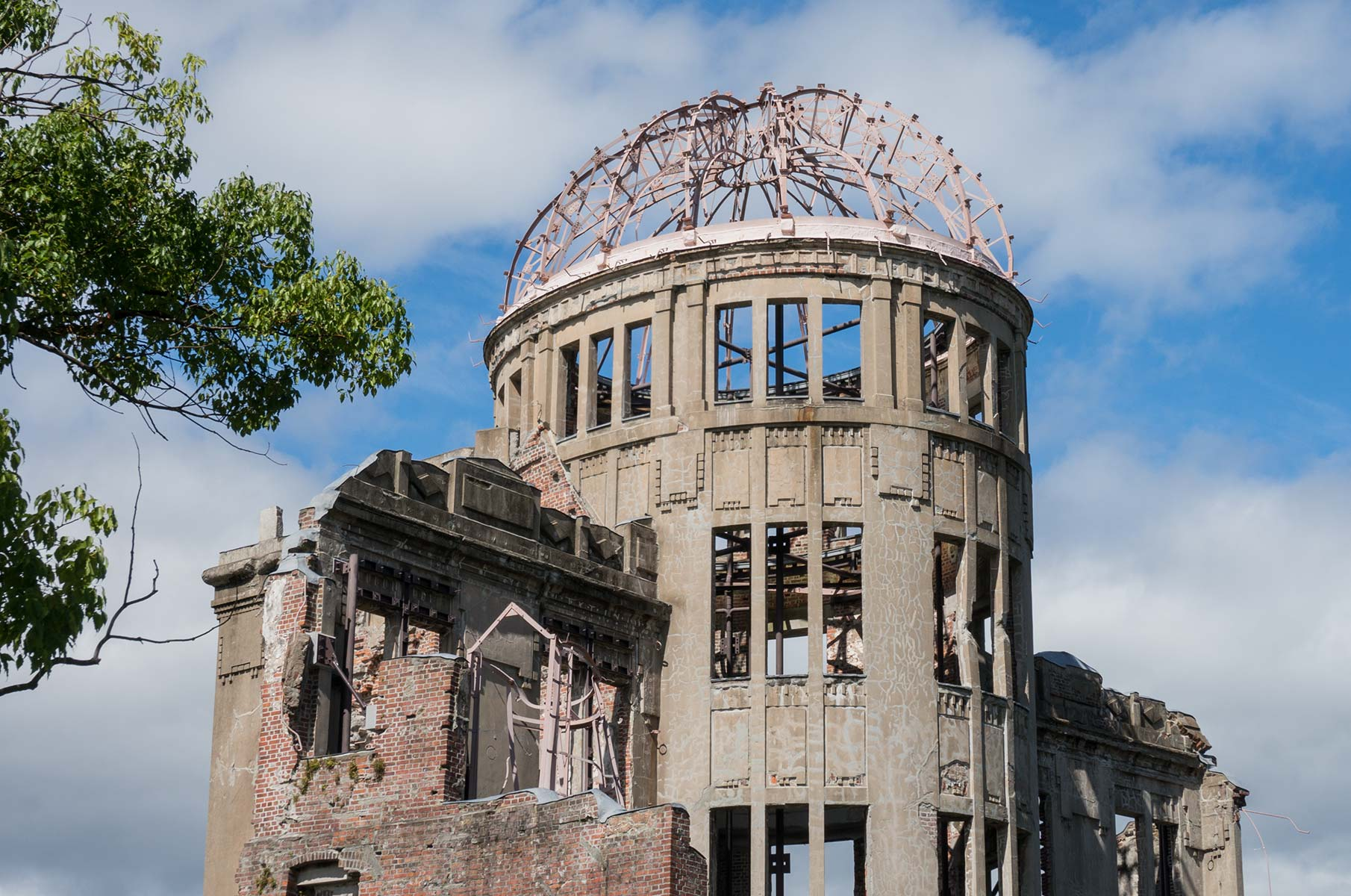 Friedensdenkmal A-Bomb Dom in Hiroshima, Japan